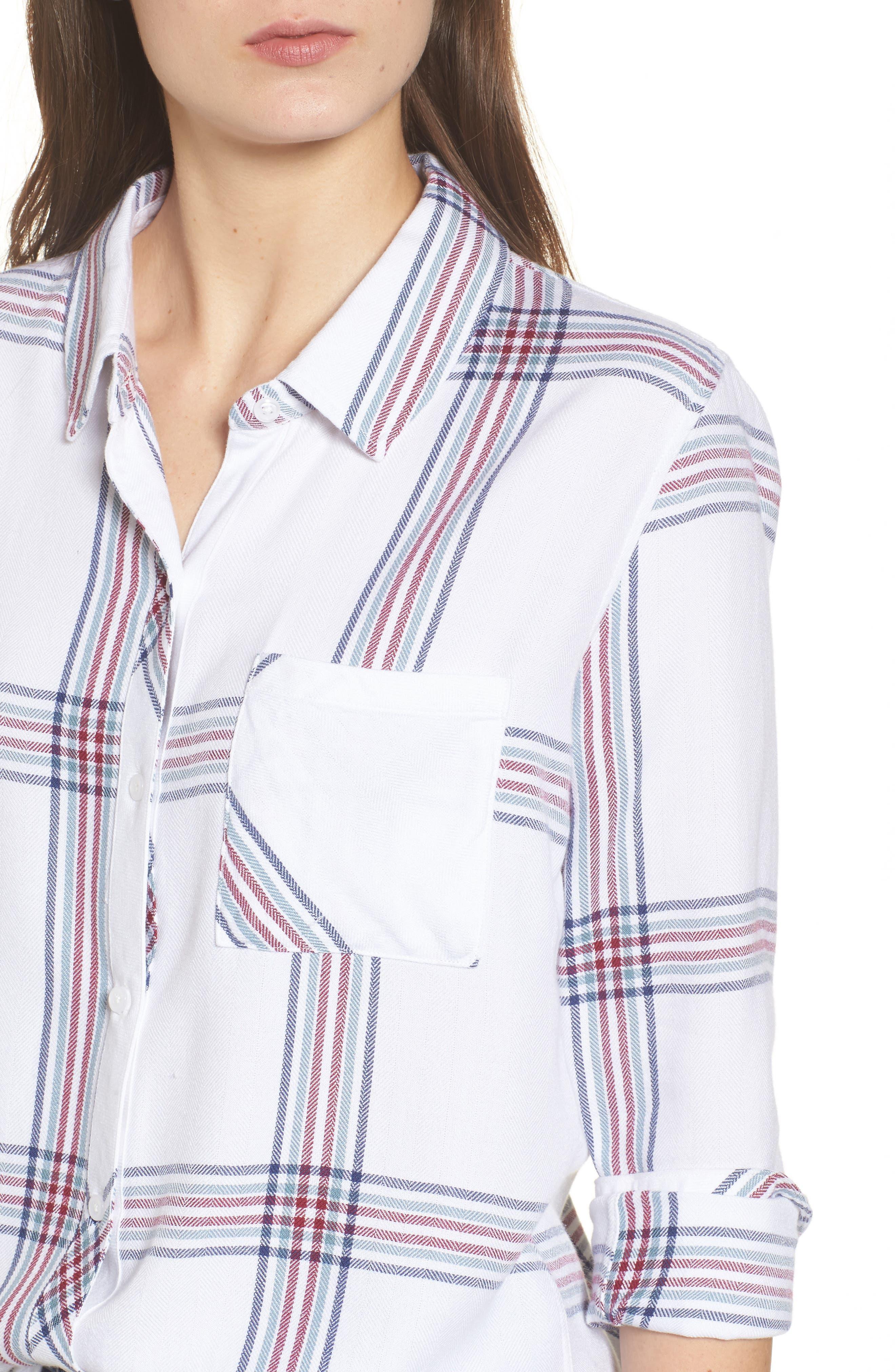 Hunter Plaid Shirt,                             Alternate thumbnail 436, color,