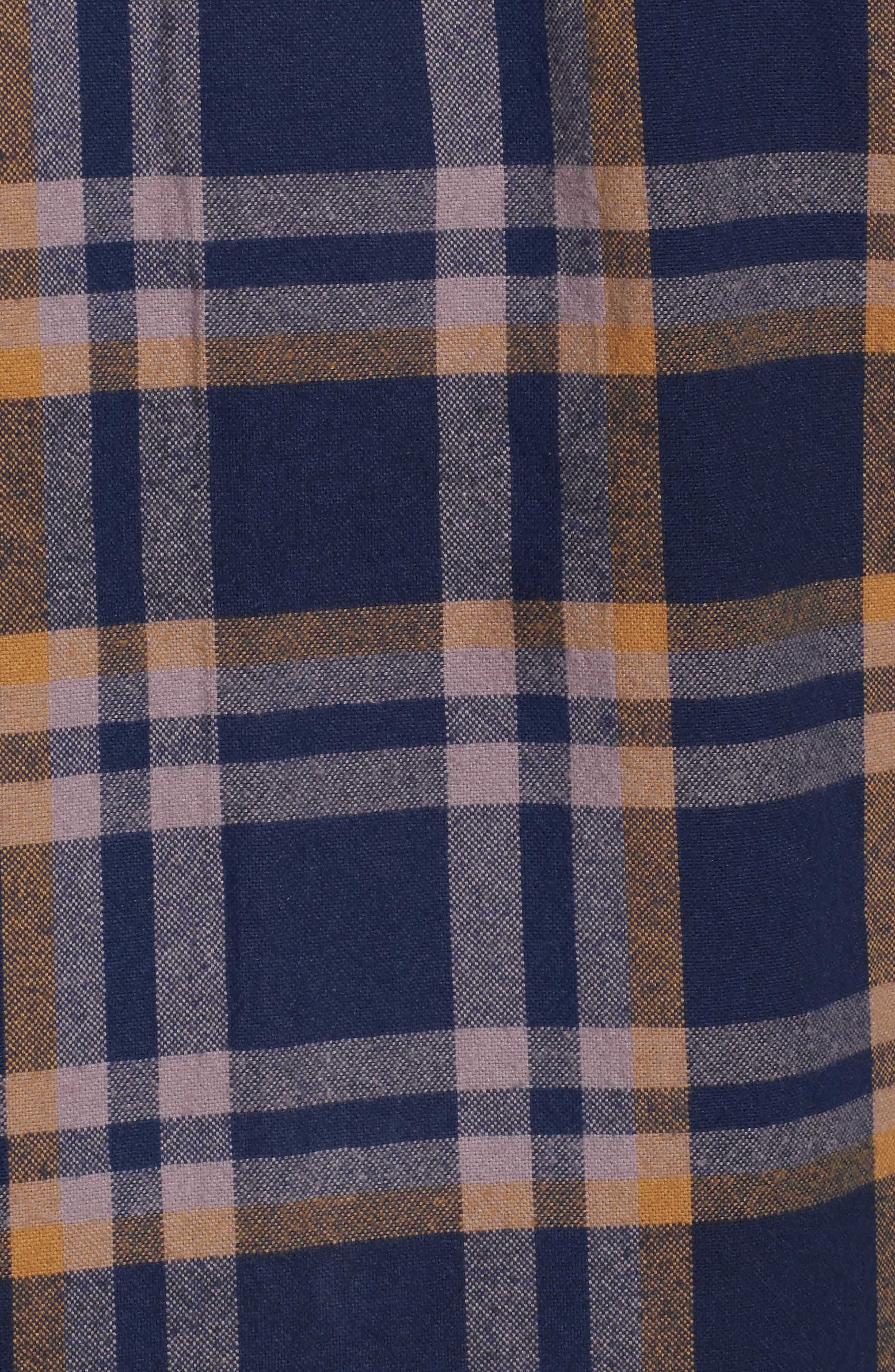 Plaid Flannel Shirt,                             Alternate thumbnail 5, color,