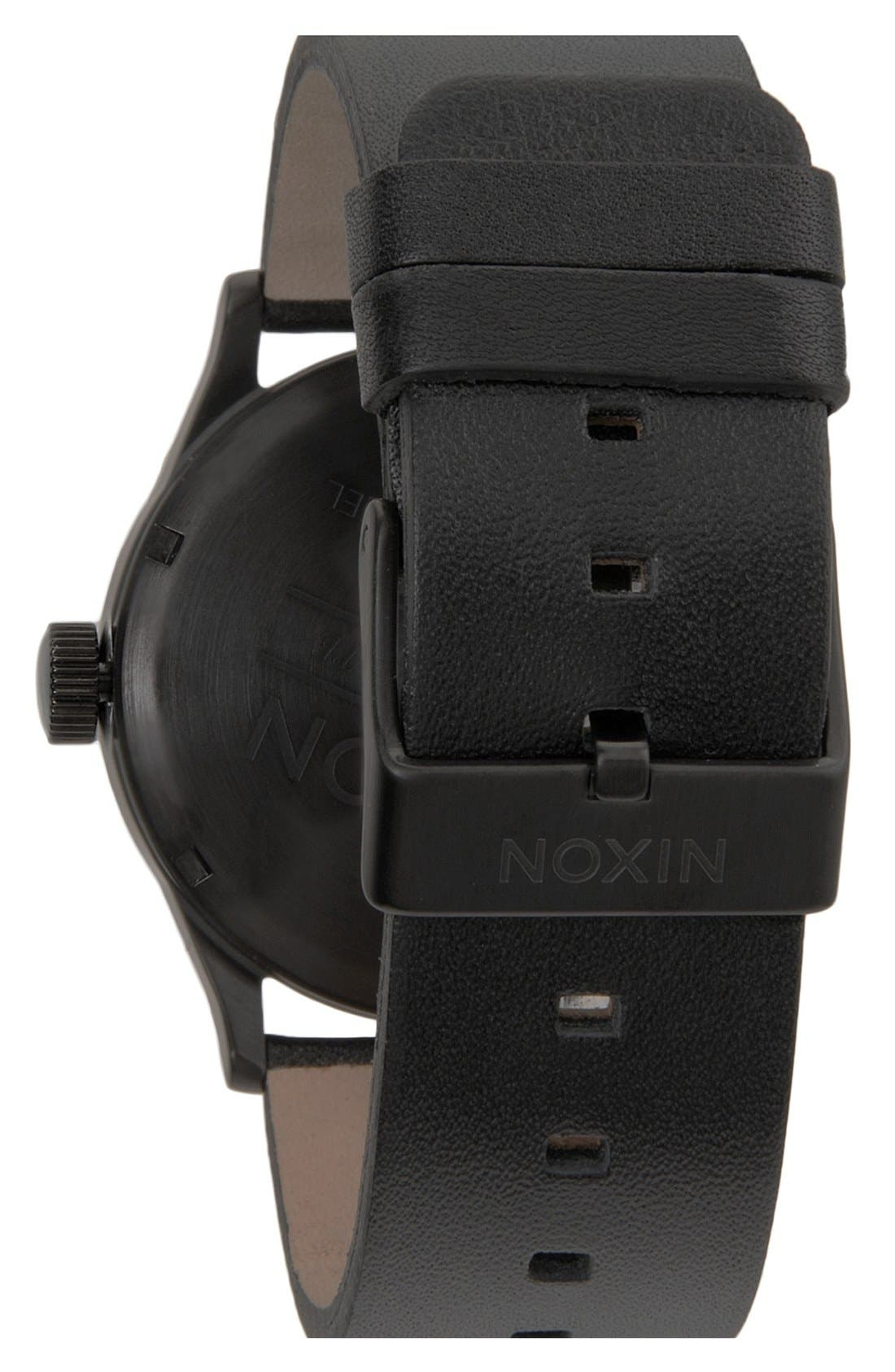 The Sentry Leather Strap Watch, 42mm,                             Alternate thumbnail 44, color,
