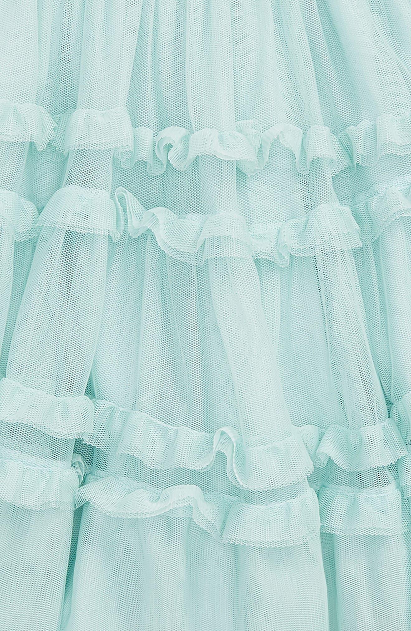 Ruffle Tulle Skirt,                             Alternate thumbnail 2, color,                             454