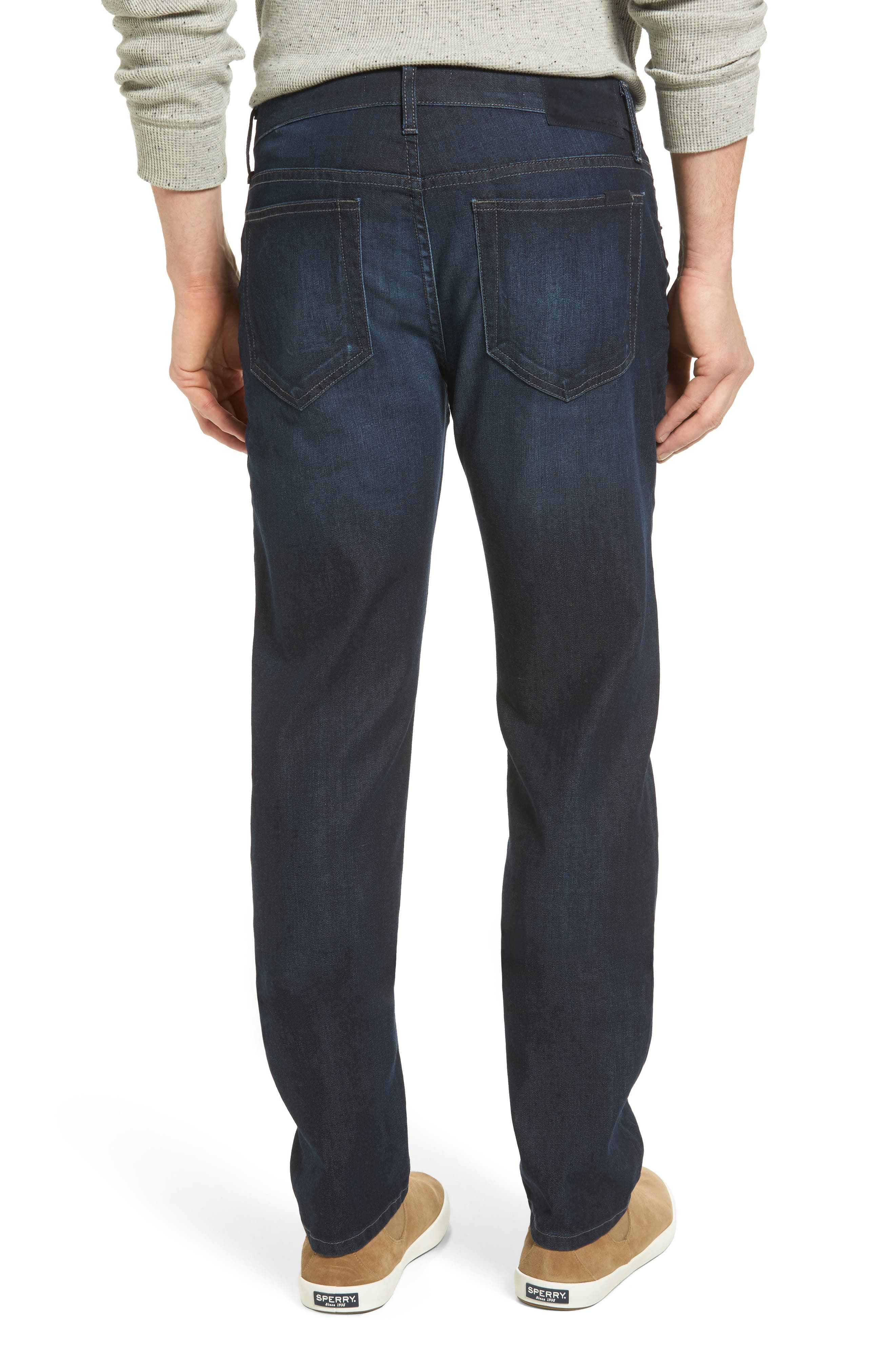 Brixton Slim Straight Leg Jeans,                             Alternate thumbnail 2, color,                             430