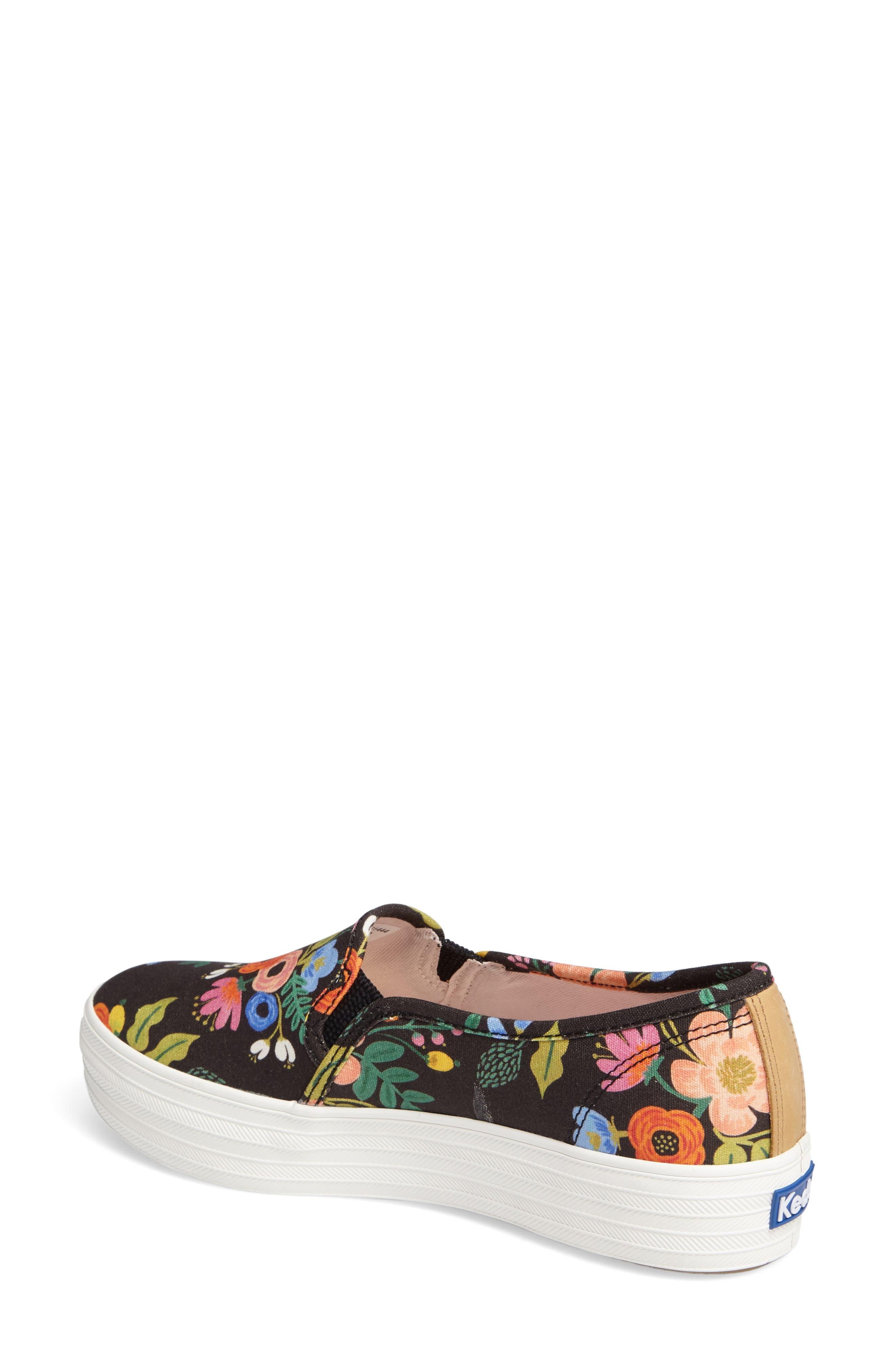 Triple Decker Slip-On Platform Sneaker,                             Alternate thumbnail 11, color,
