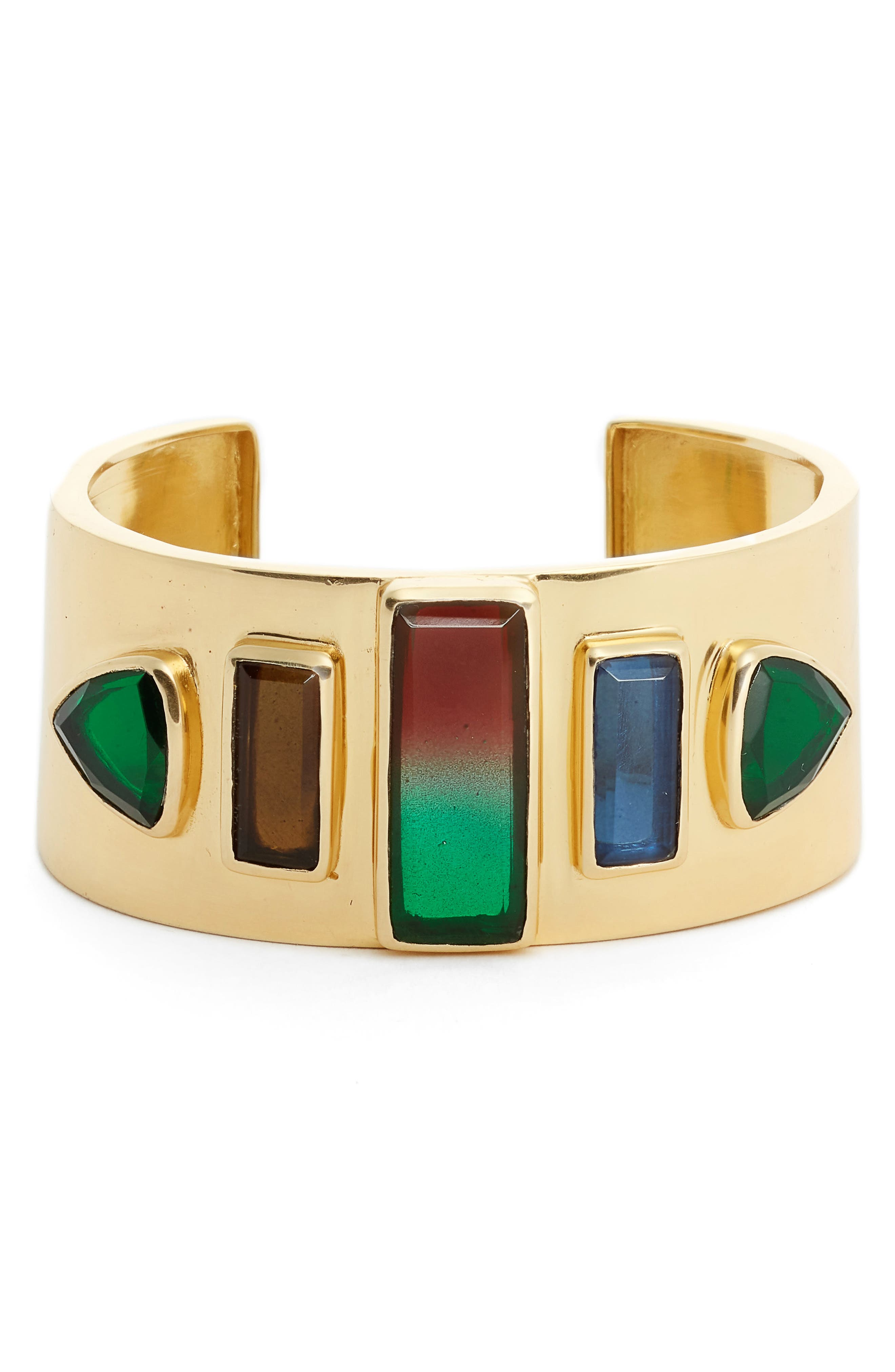 Stone Statement Cuff,                             Main thumbnail 1, color,                             710