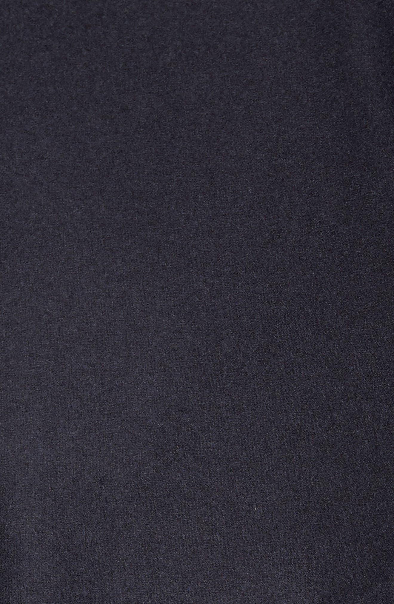Trim Fit Wool Blend Blazer,                             Alternate thumbnail 6, color,                             002