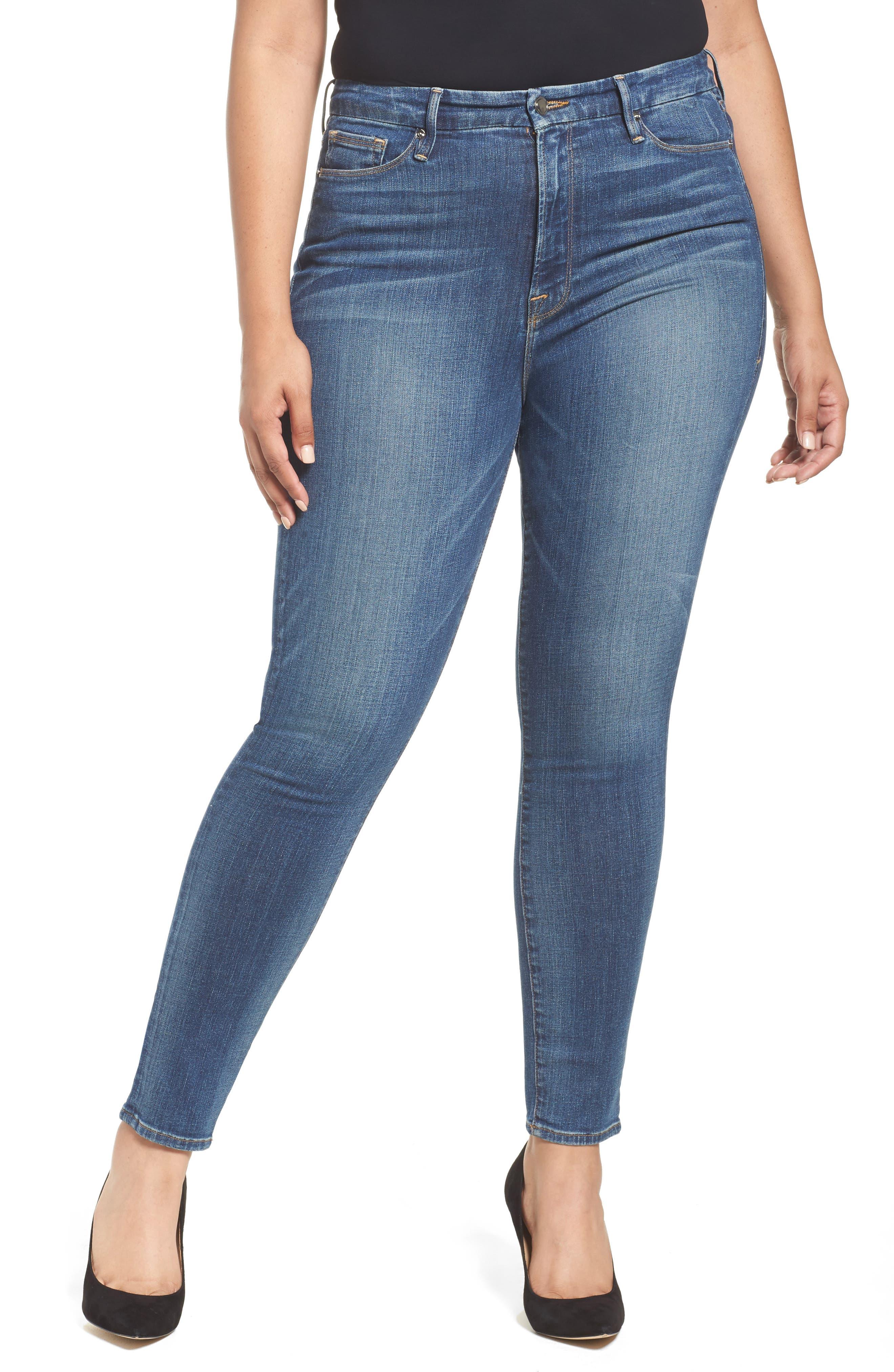 Good Waist High Waist Skinny Jeans,                             Main thumbnail 1, color,