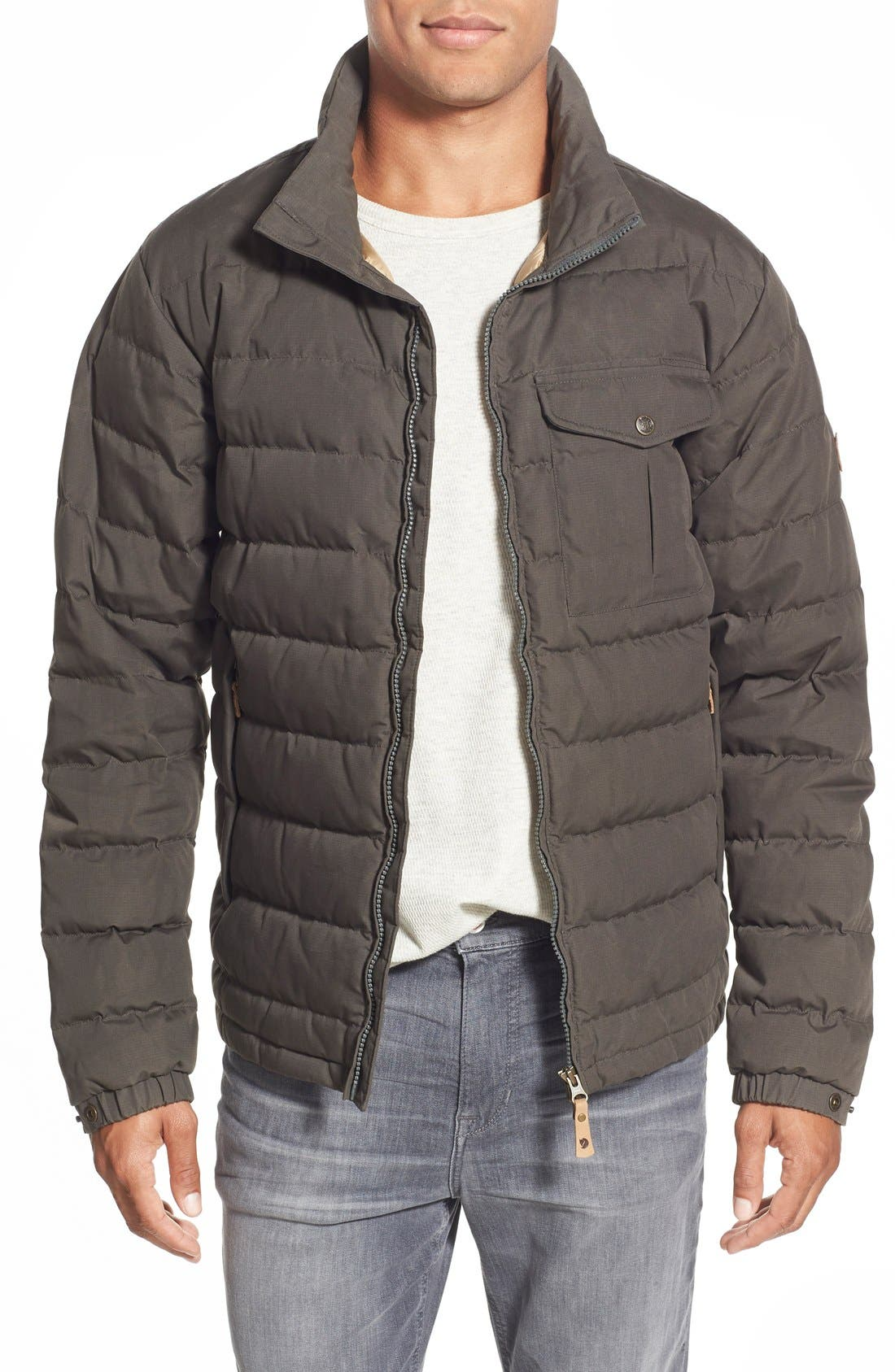'Ovik Lite' Quilted Down Jacket, Main, color, 023