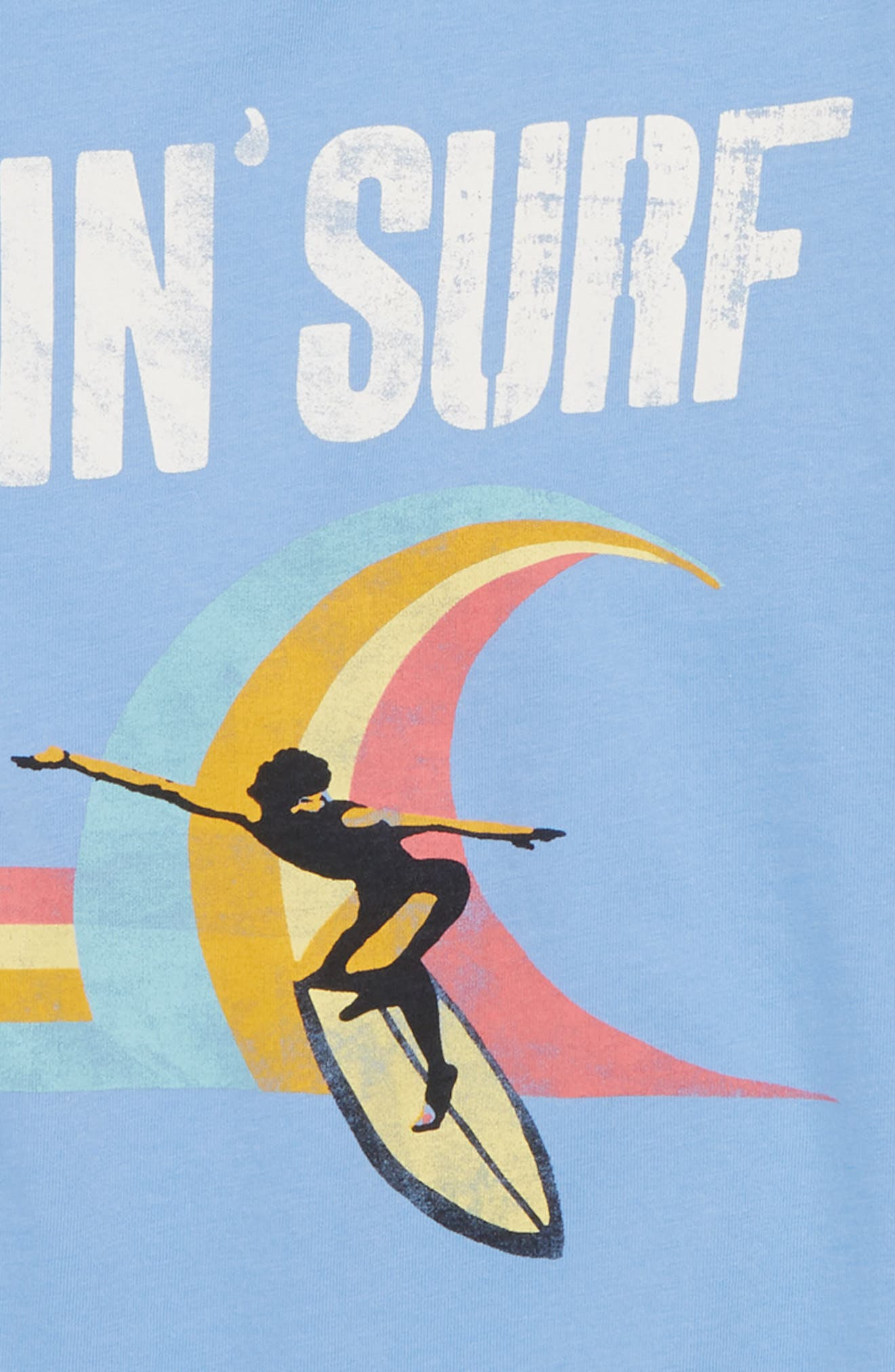Surf's Up Graphic T-Shirt,                             Alternate thumbnail 3, color,                             452