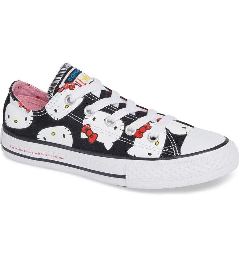 Converse Chuck Taylor® All Star® Hello Kitty® Sneaker (Baby 443bd46db