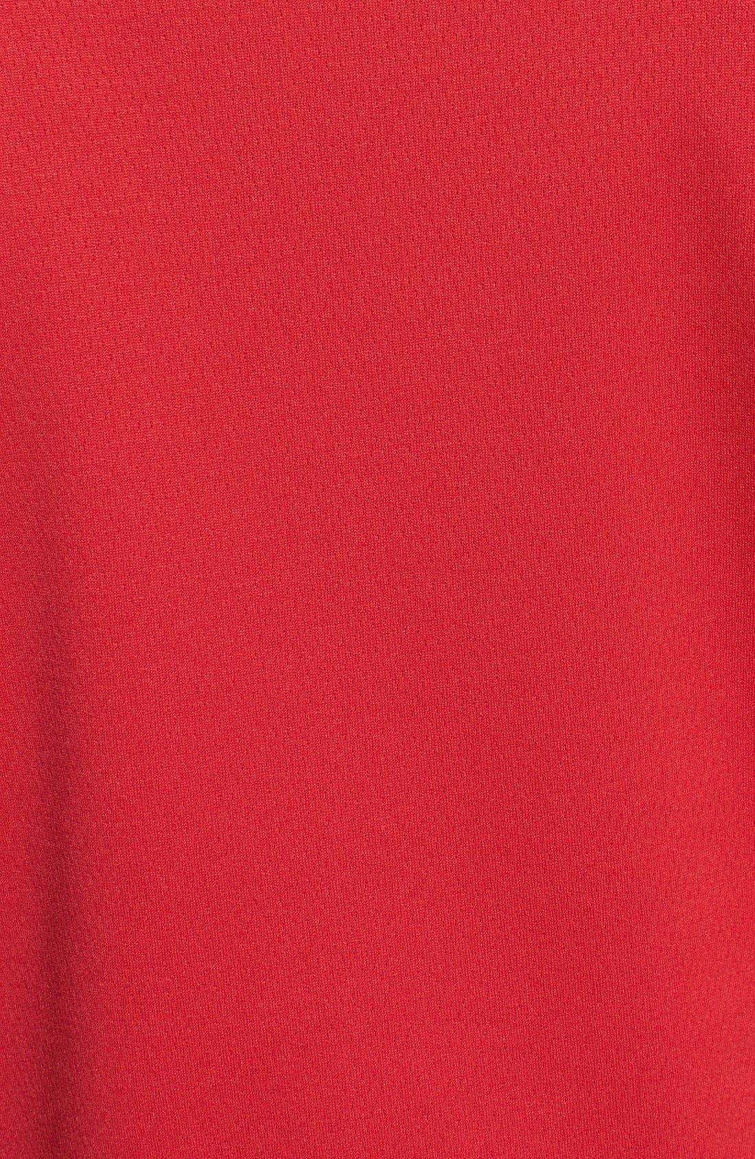 'DryTec<sup>®</sup> Edge' Half Zip Mesh Pullover,                             Alternate thumbnail 3, color,                             613