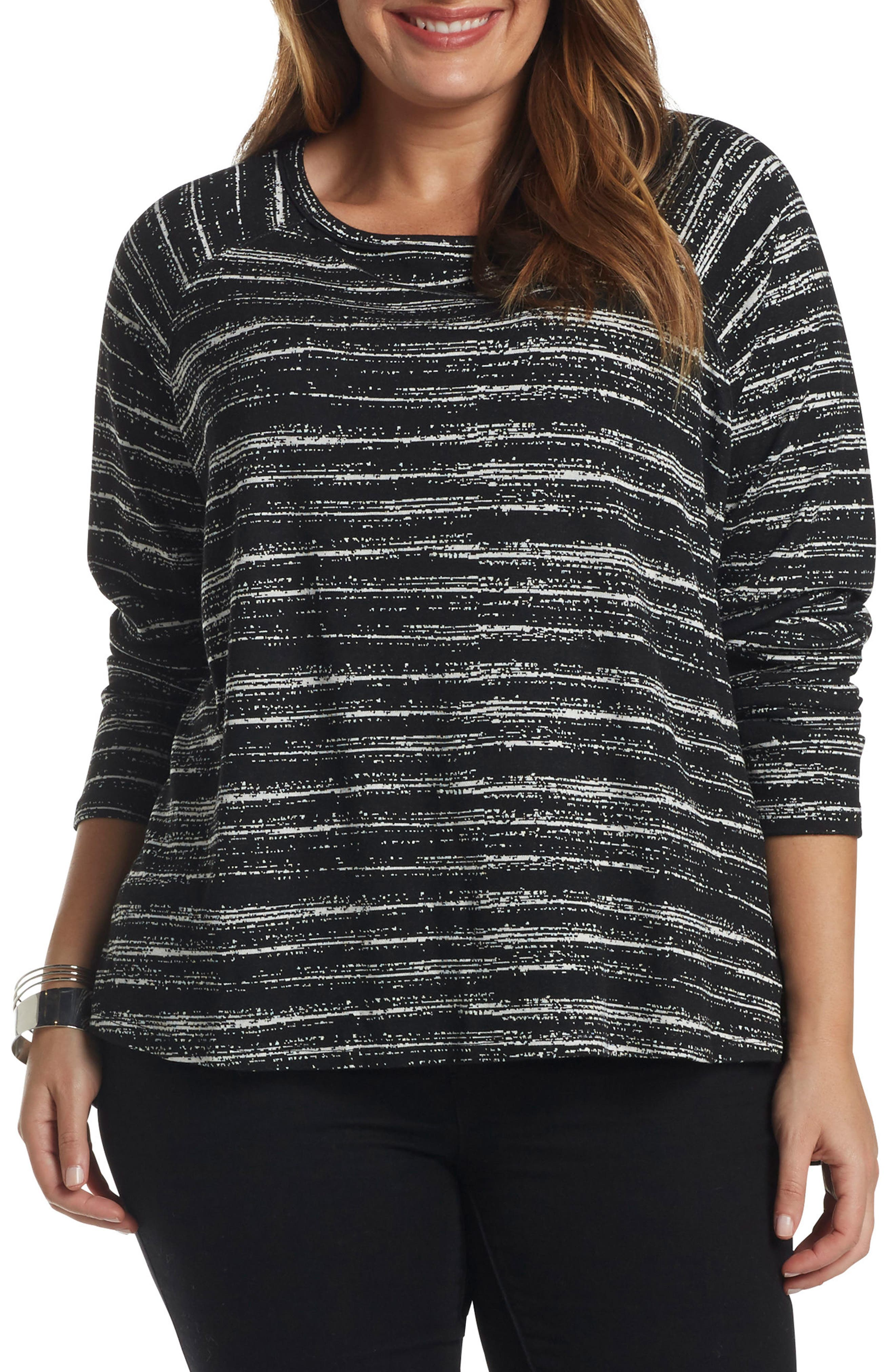 Rica Stretch Knit Top,                         Main,                         color, 008