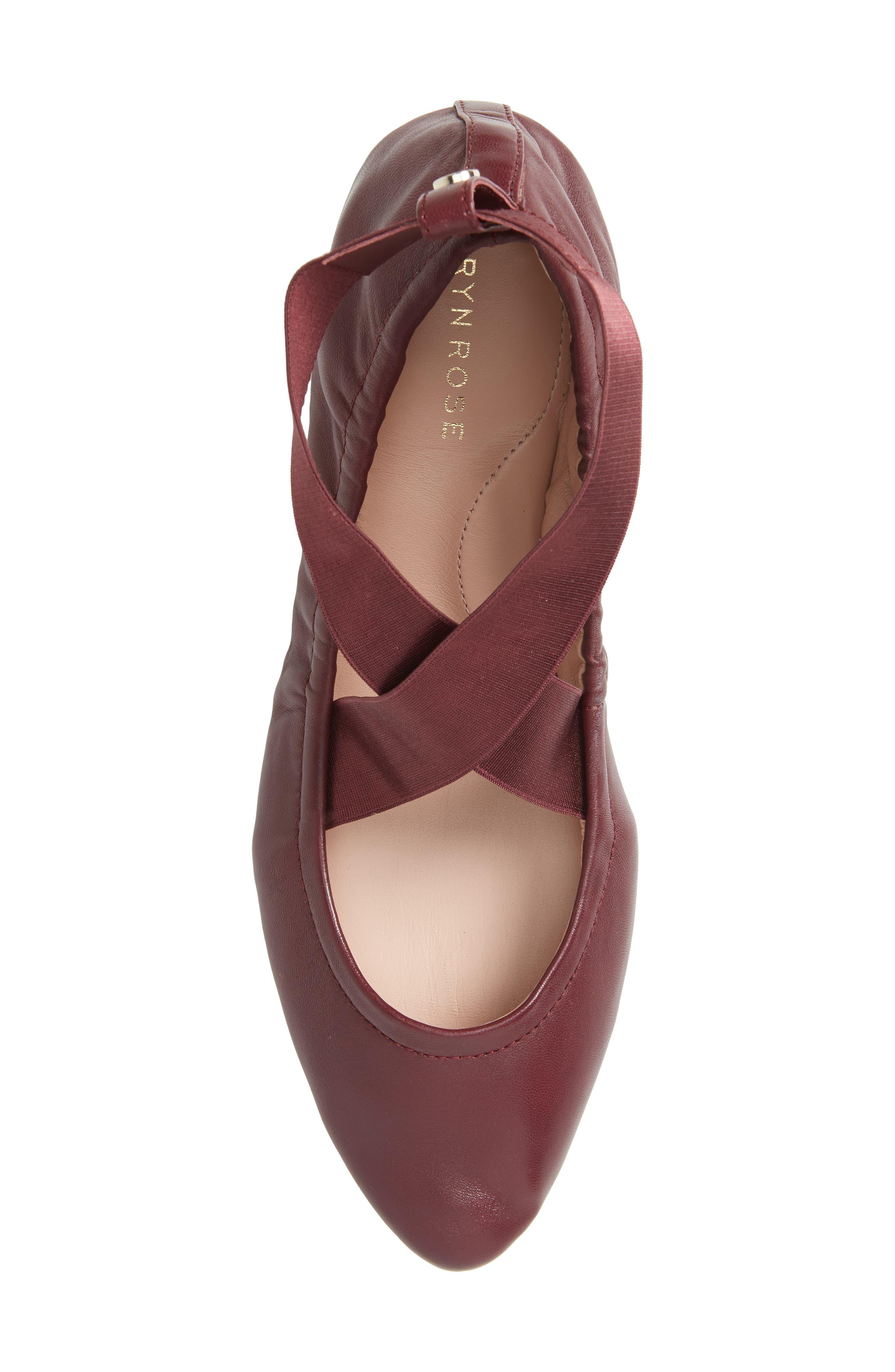 Edina Strappy Ballet Flat,                             Alternate thumbnail 25, color,