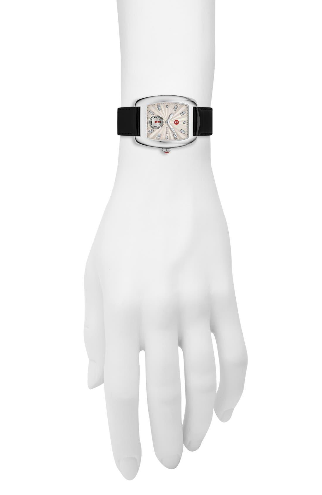 Urban Mini Diamond Dial Watch Case, 29mm x 30mm,                             Alternate thumbnail 3, color,                             040
