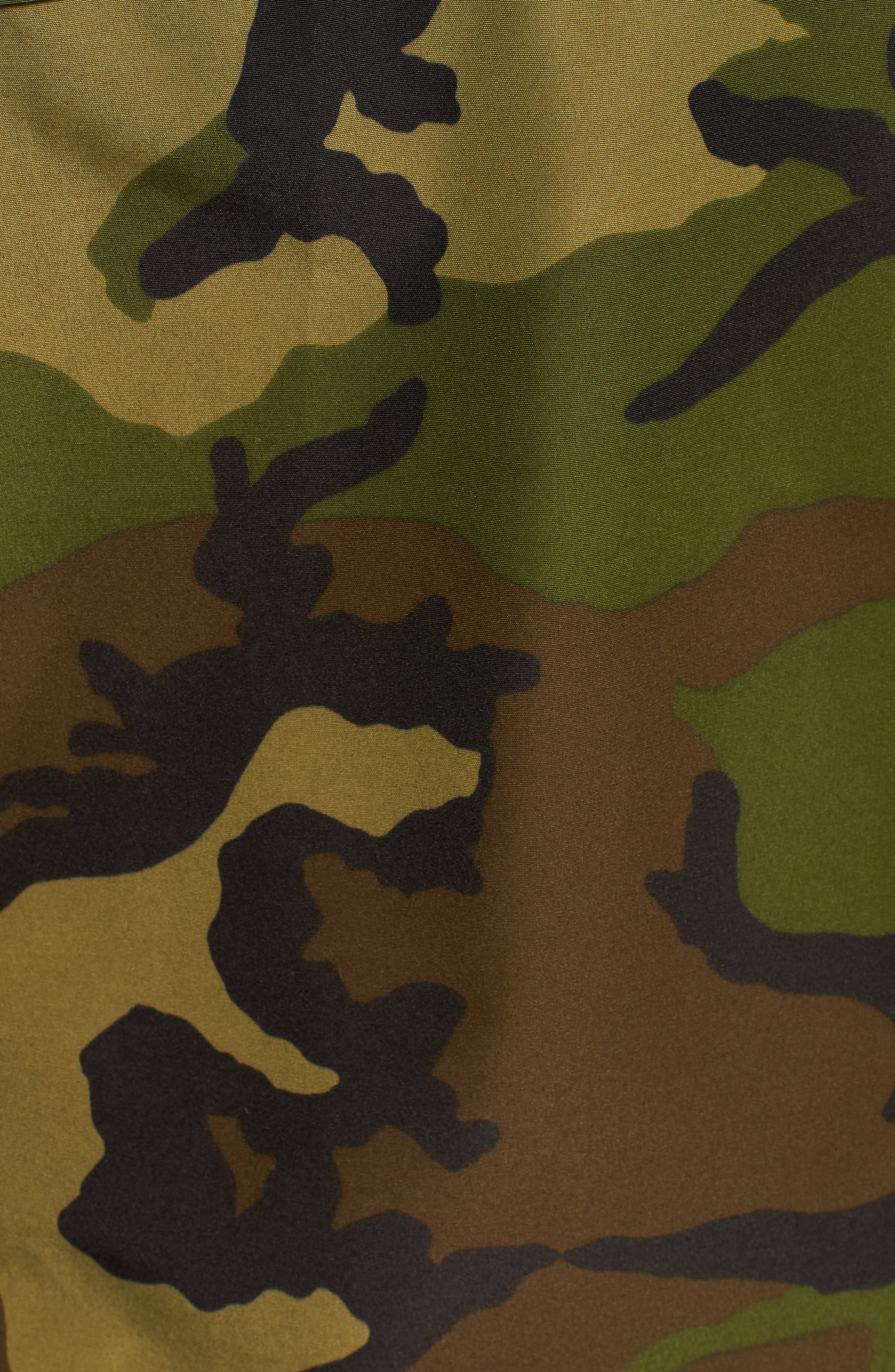 Canmore 625 Fill Power Down Parka,                             Alternate thumbnail 7, color,                             CLASSIC CAMO