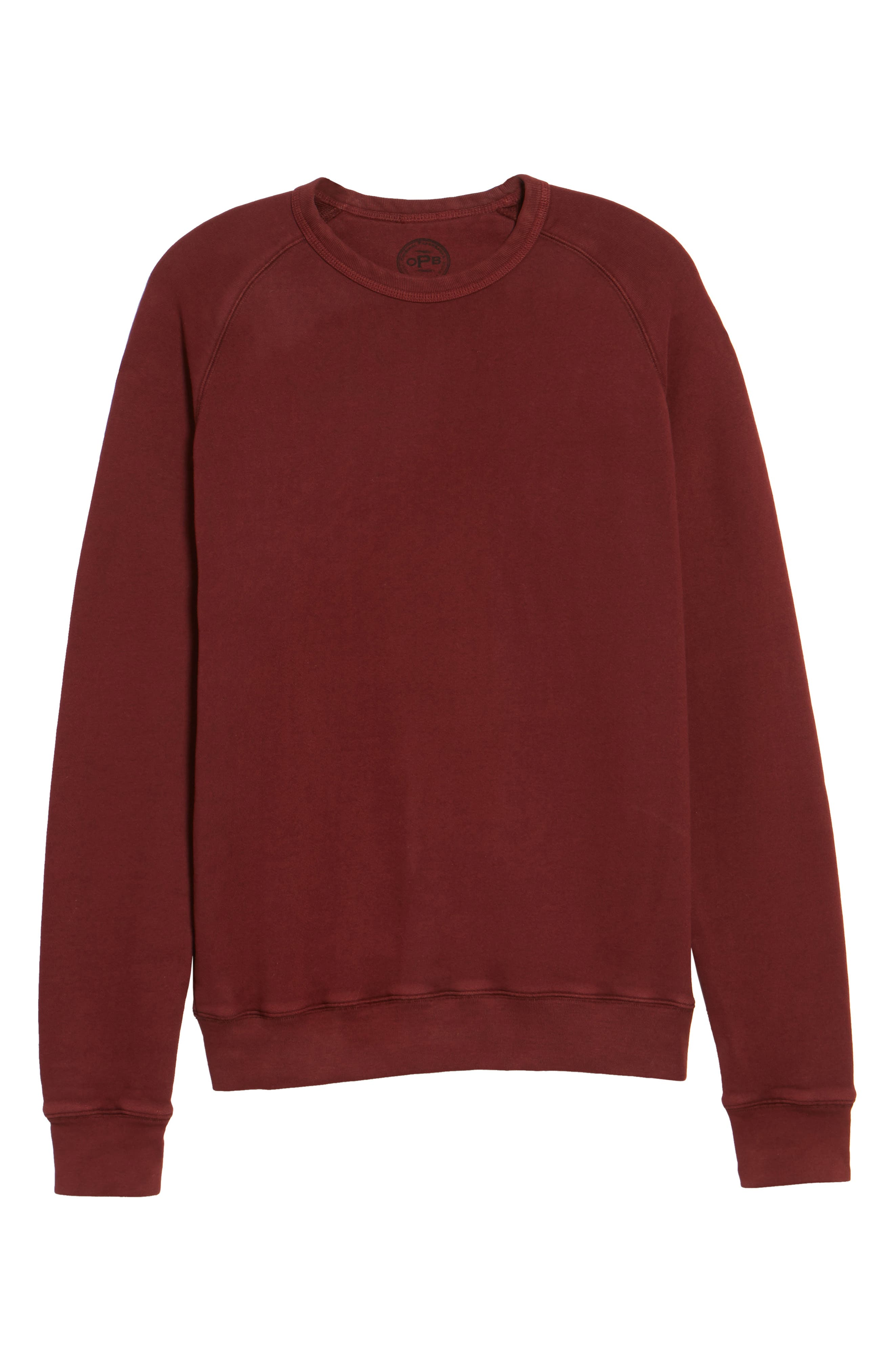 South Sea Raglan Sweatshirt,                             Alternate thumbnail 18, color,