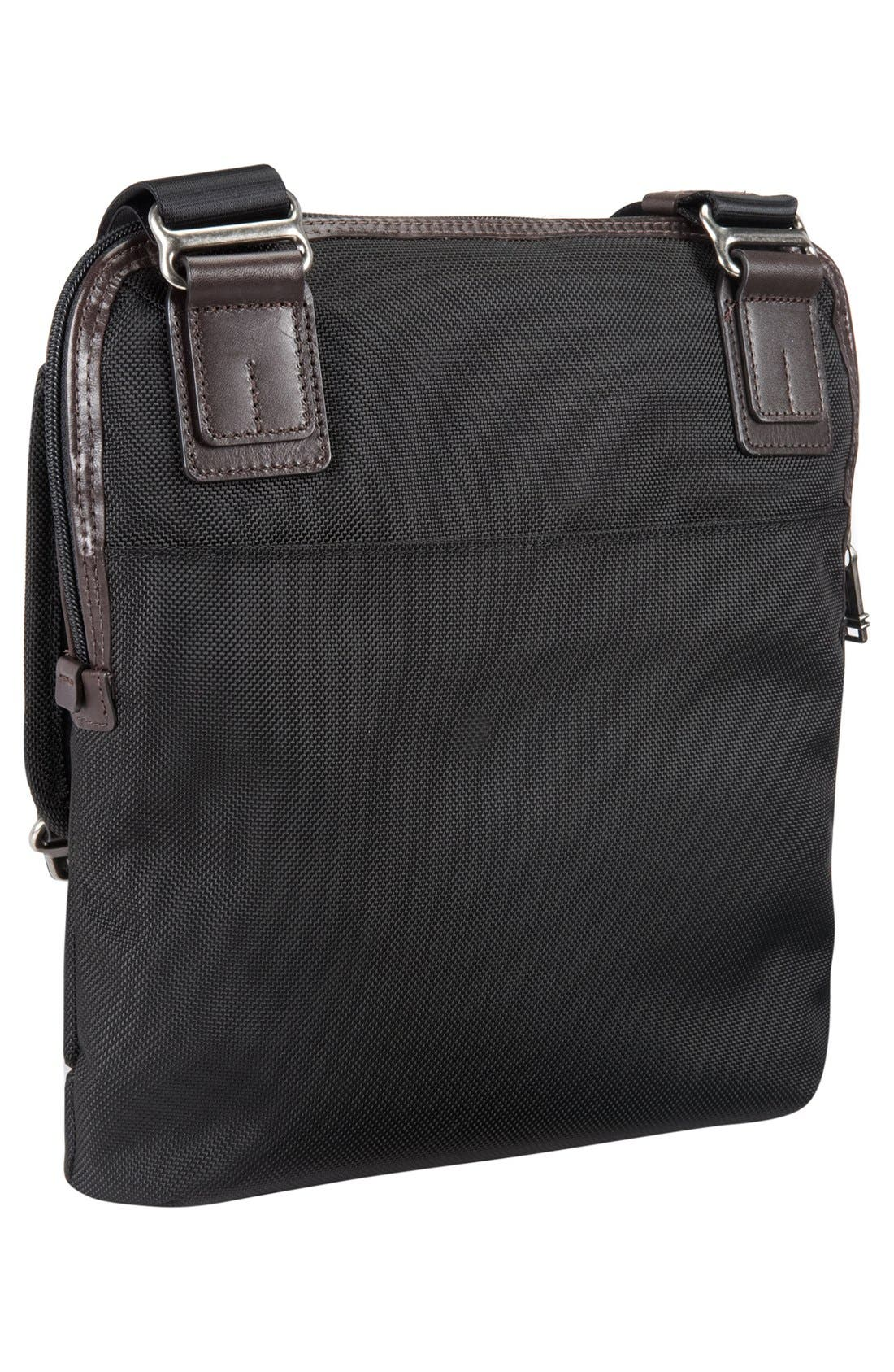 TUMI,                             'Alpha Bravo - Annapolis' Zip Flap Messenger Bag,                             Alternate thumbnail 5, color,                             001