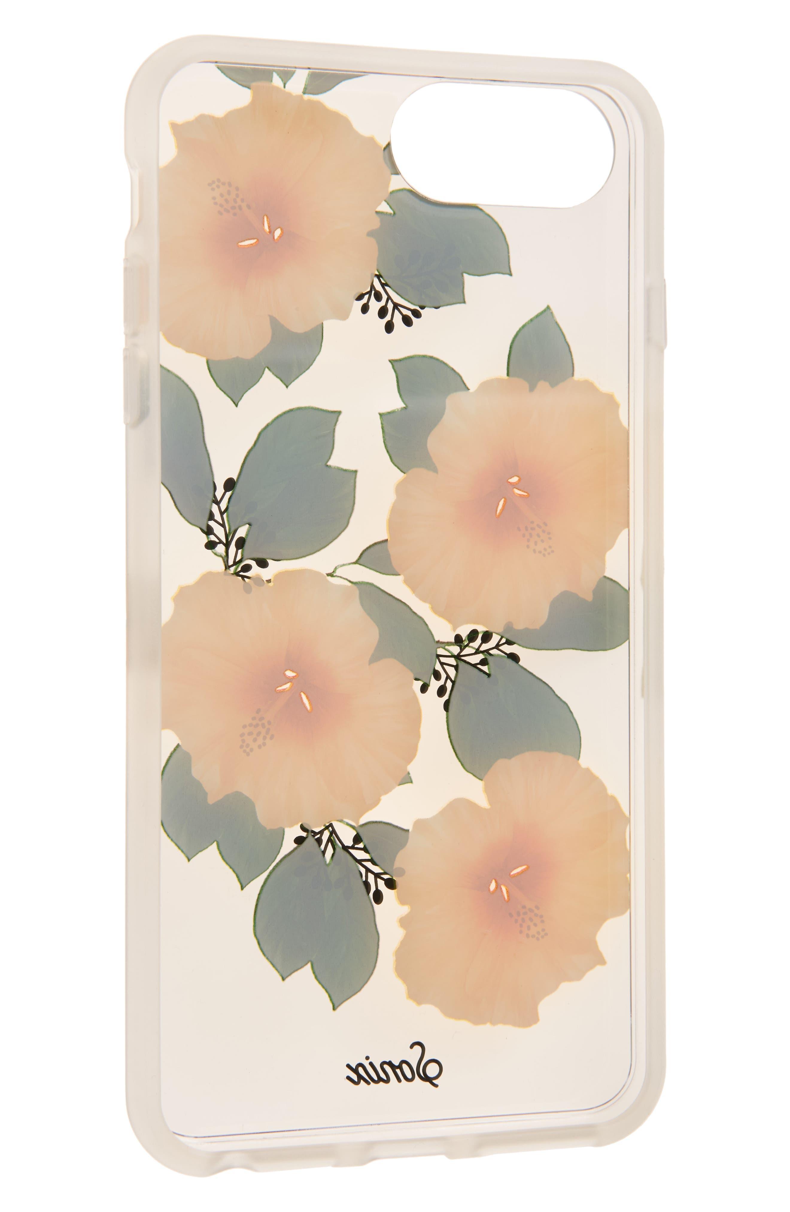 Hibiscus iPhone 6/6s/7/8 & 6/6s/7/8 Plus Case,                             Alternate thumbnail 2, color,                             700