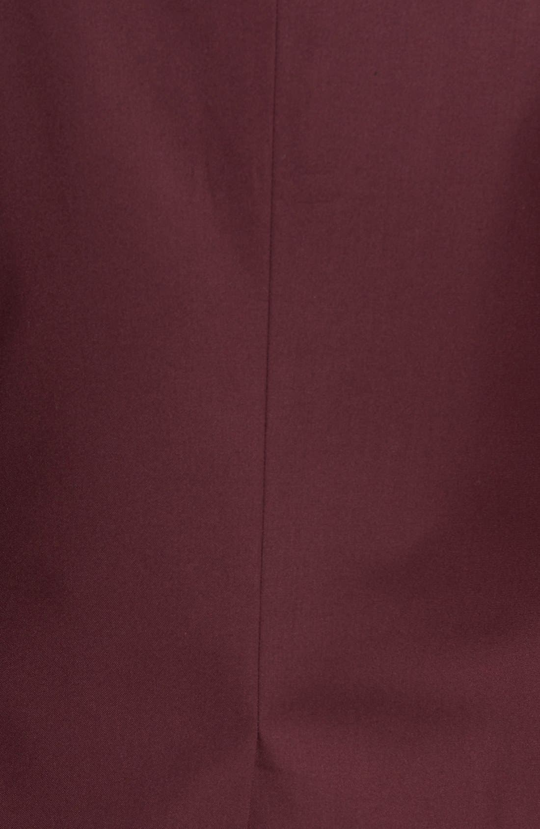 Burgundy Slim Fit Suit Jacket,                             Alternate thumbnail 5, color,                             930