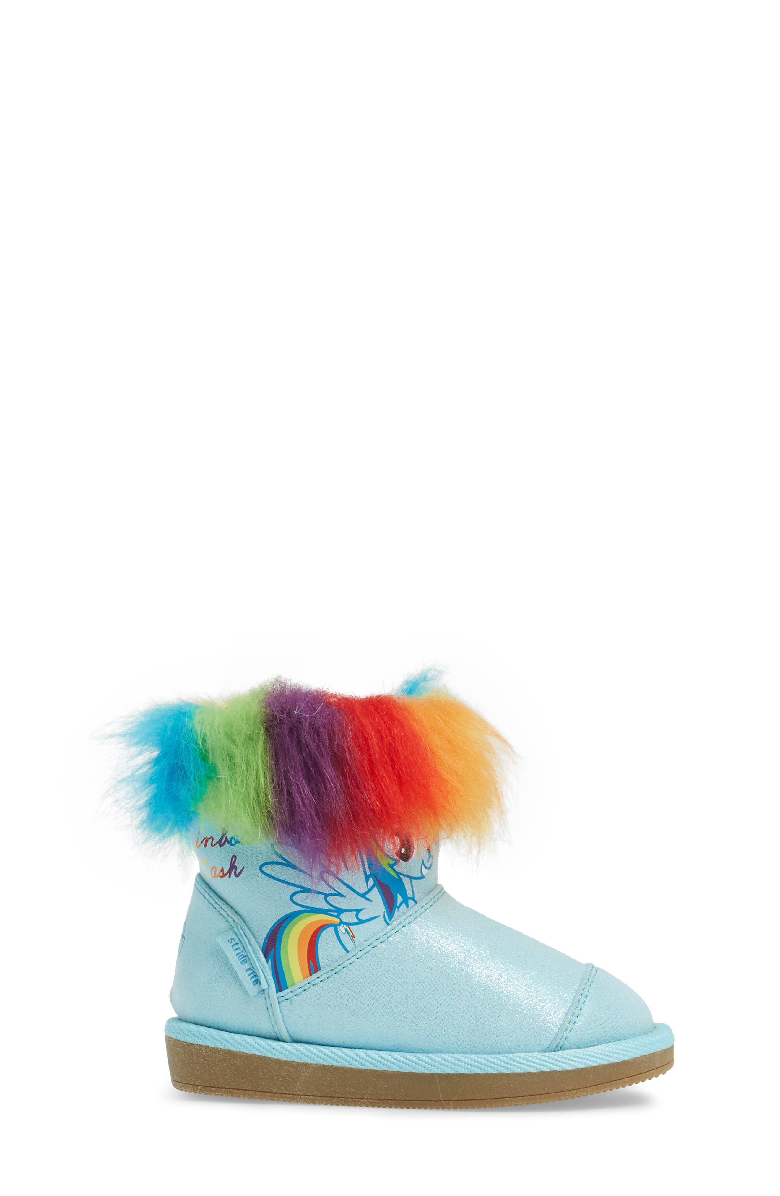 My Little Pony<sup>®</sup> Rainbow Dash Boot,                             Alternate thumbnail 3, color,                             400