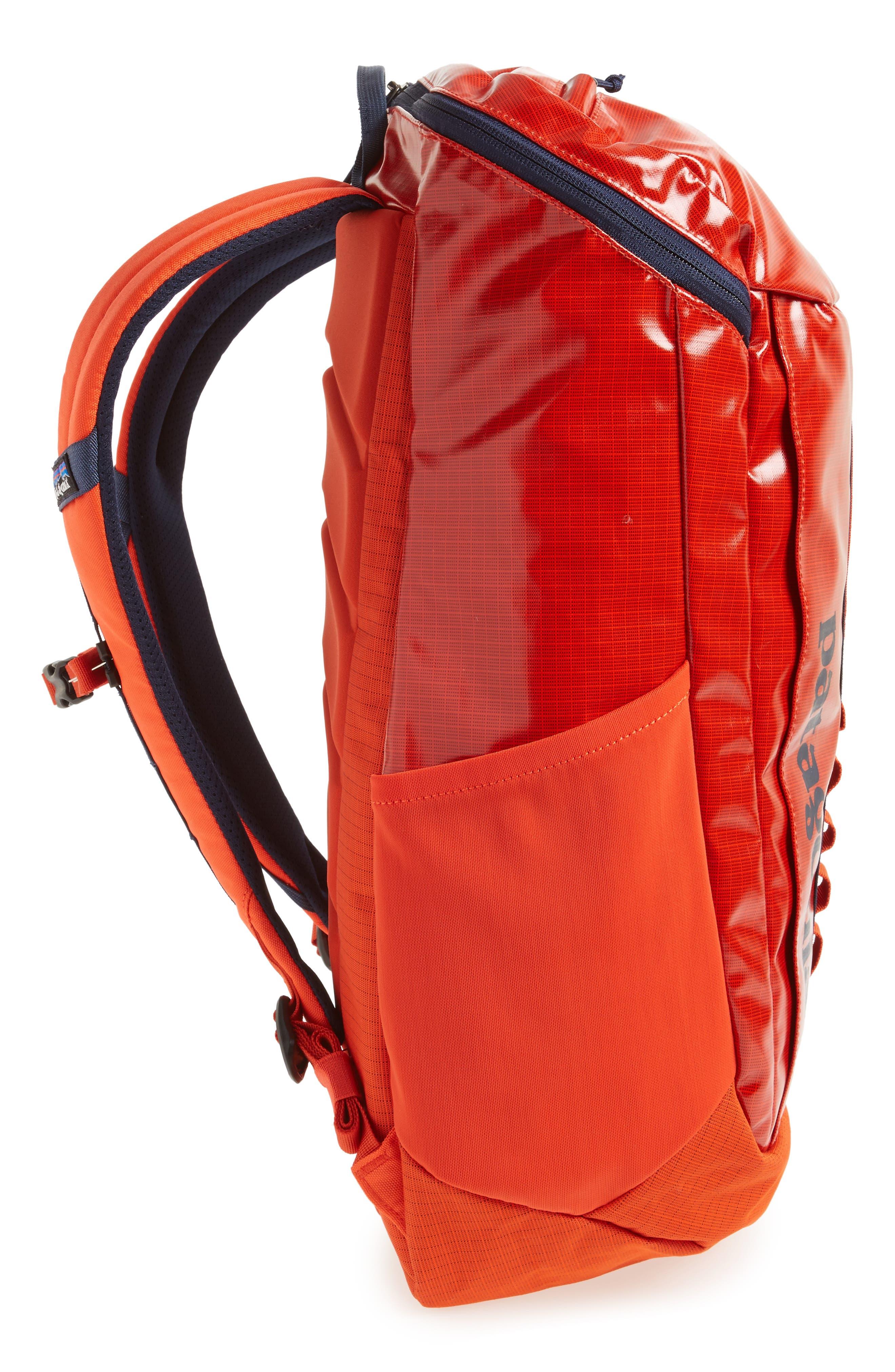 Black Hole 25 Liter Backpack,                             Alternate thumbnail 5, color,                             PAINTBRUSH RED