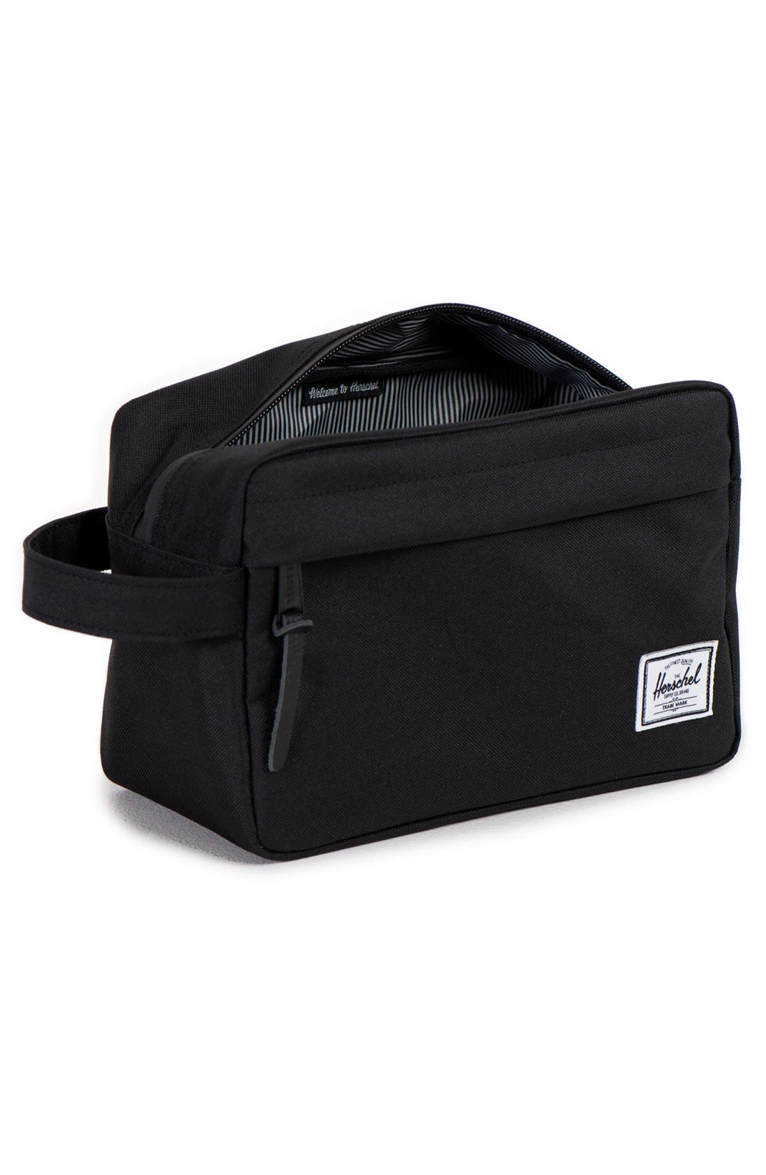 'Chapter' Toiletry Case,                             Alternate thumbnail 10, color,                             BLACK
