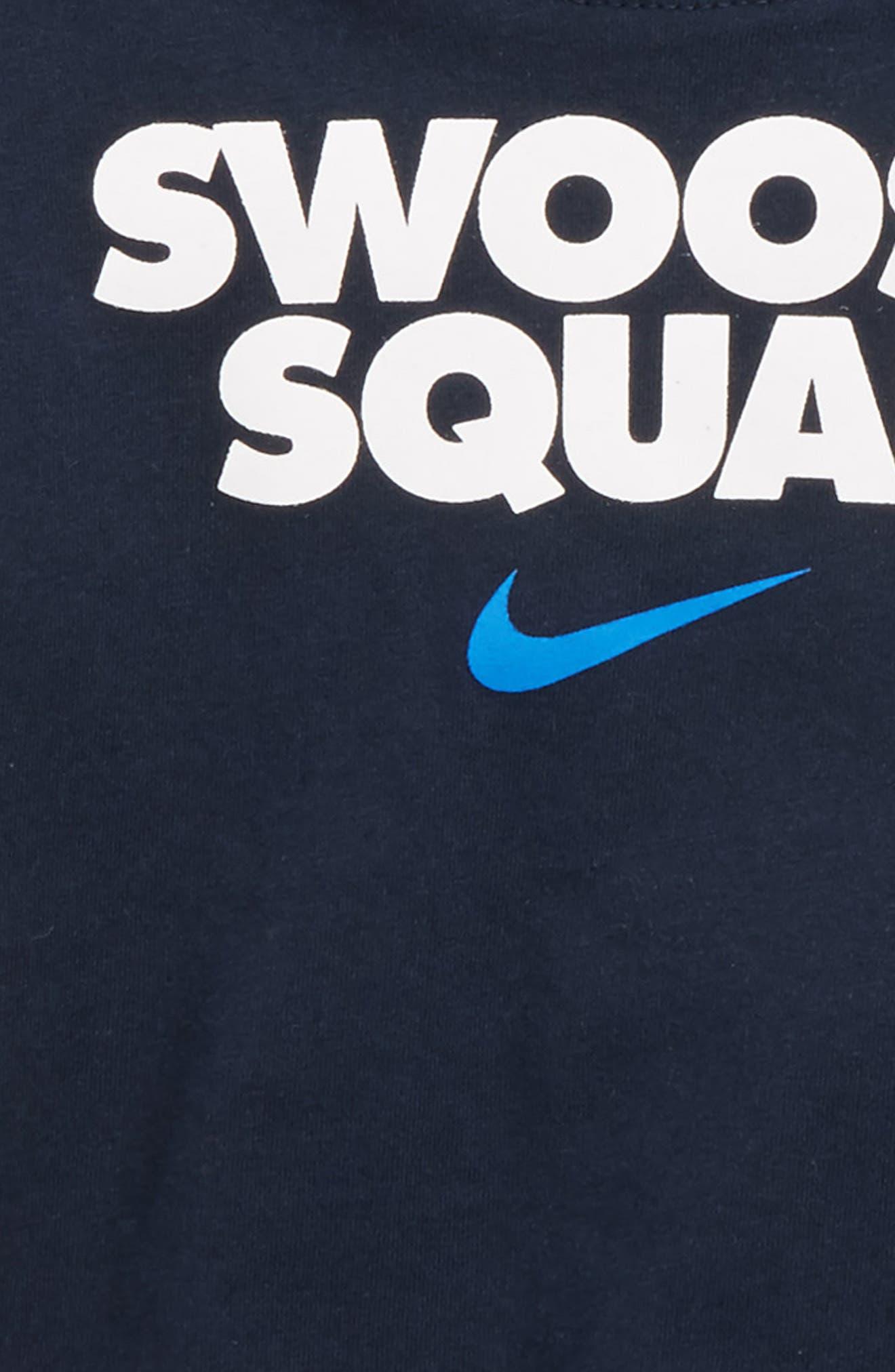 Swoosh Squad T-Shirt & Shorts Set,                             Alternate thumbnail 2, color,                             434