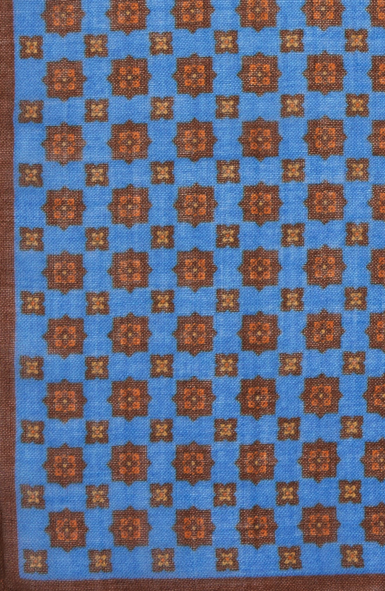 Medallion Pocket Square,                             Alternate thumbnail 15, color,