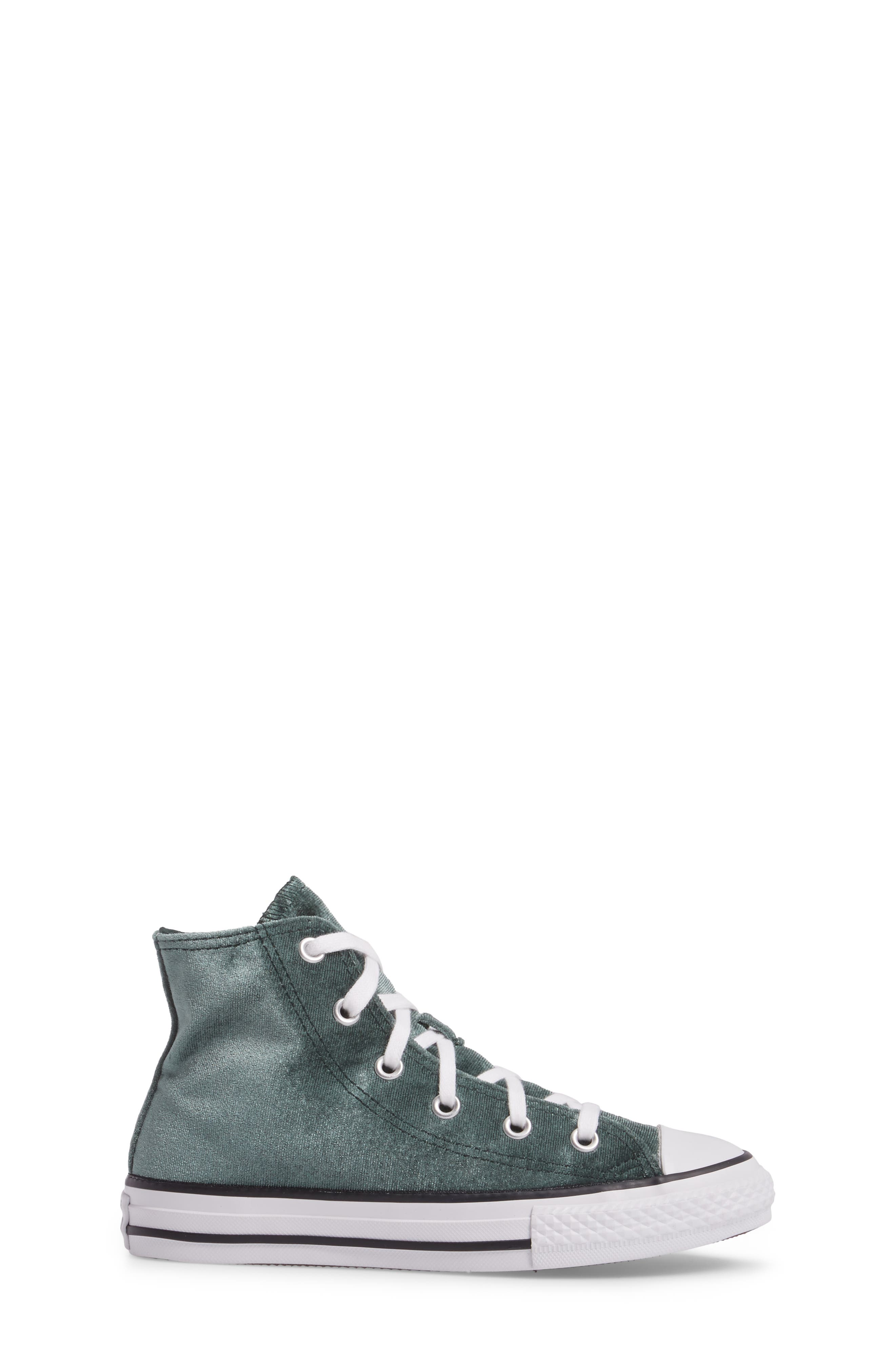 Chuck Taylor<sup>®</sup> All Star<sup>®</sup> Velvet High Top Sneaker,                             Alternate thumbnail 3, color,                             300