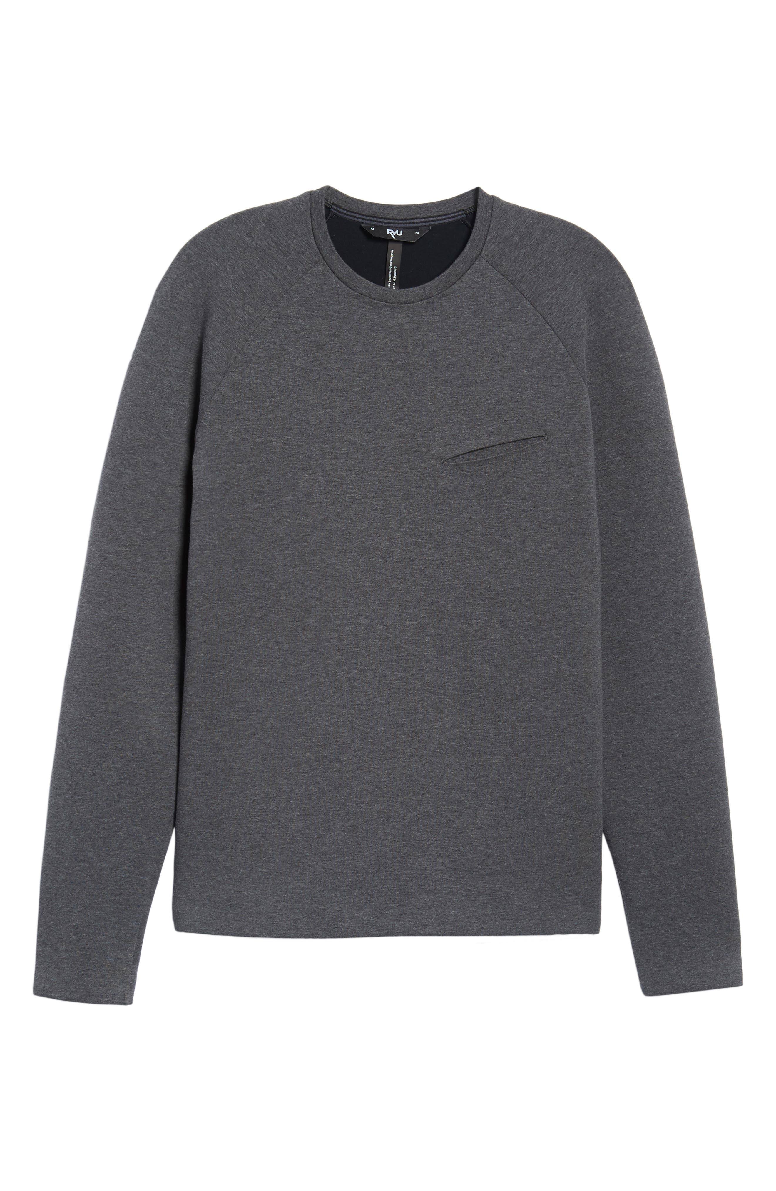 Ethos Cotton Blend Sweater,                             Alternate thumbnail 6, color,                             021