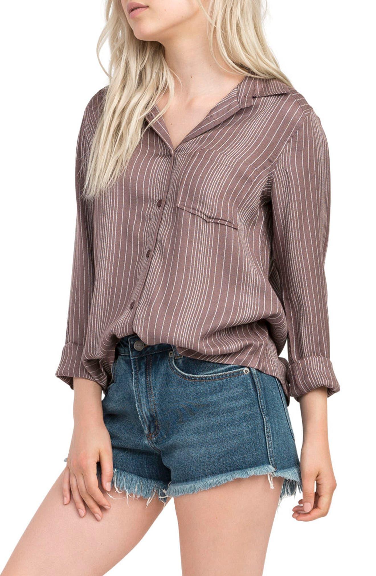 Denver Button Front Shirt,                             Main thumbnail 1, color,                             500