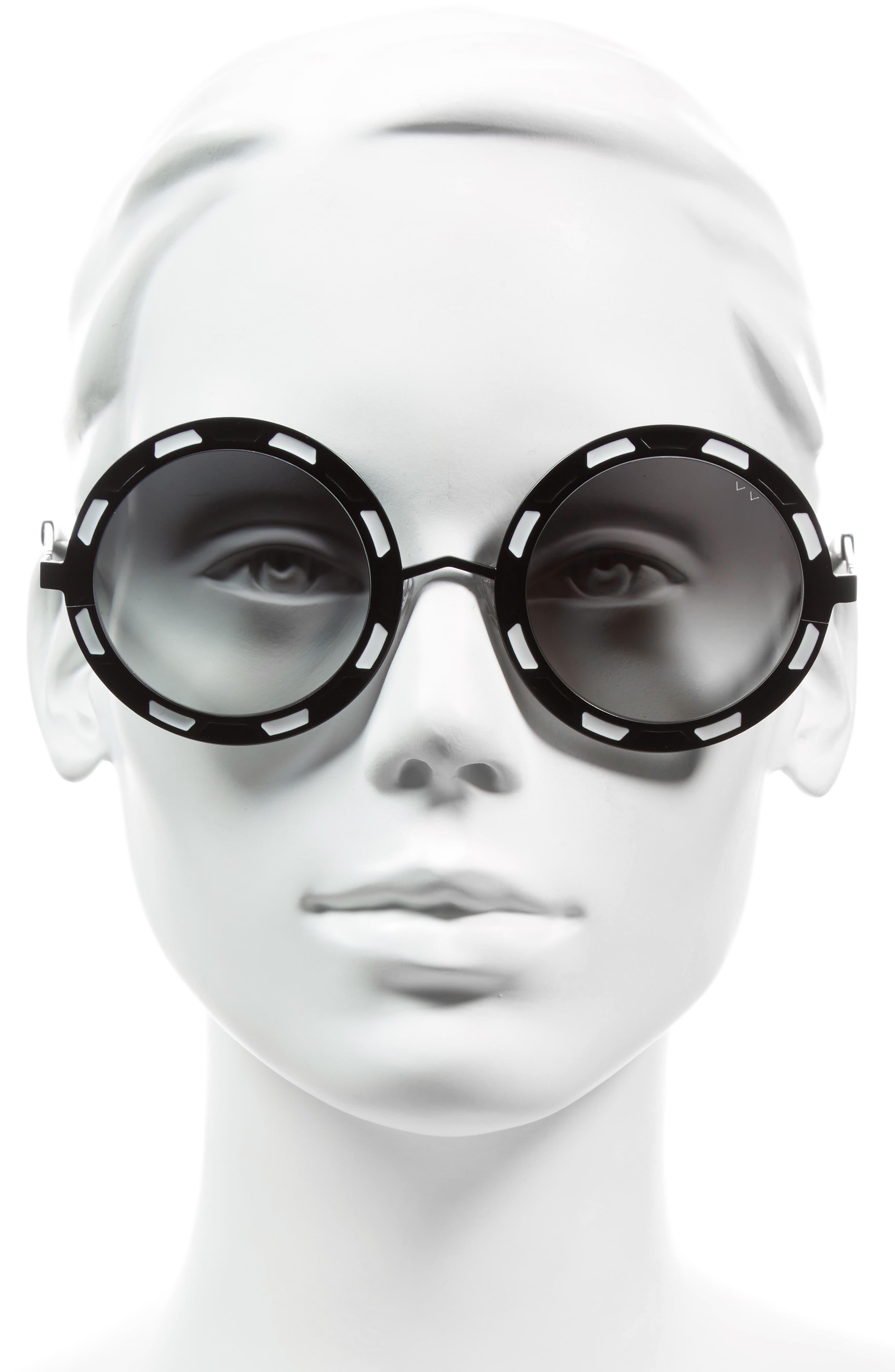 Sonny & Cher 50mm Round Sunglasses,                             Alternate thumbnail 5, color,