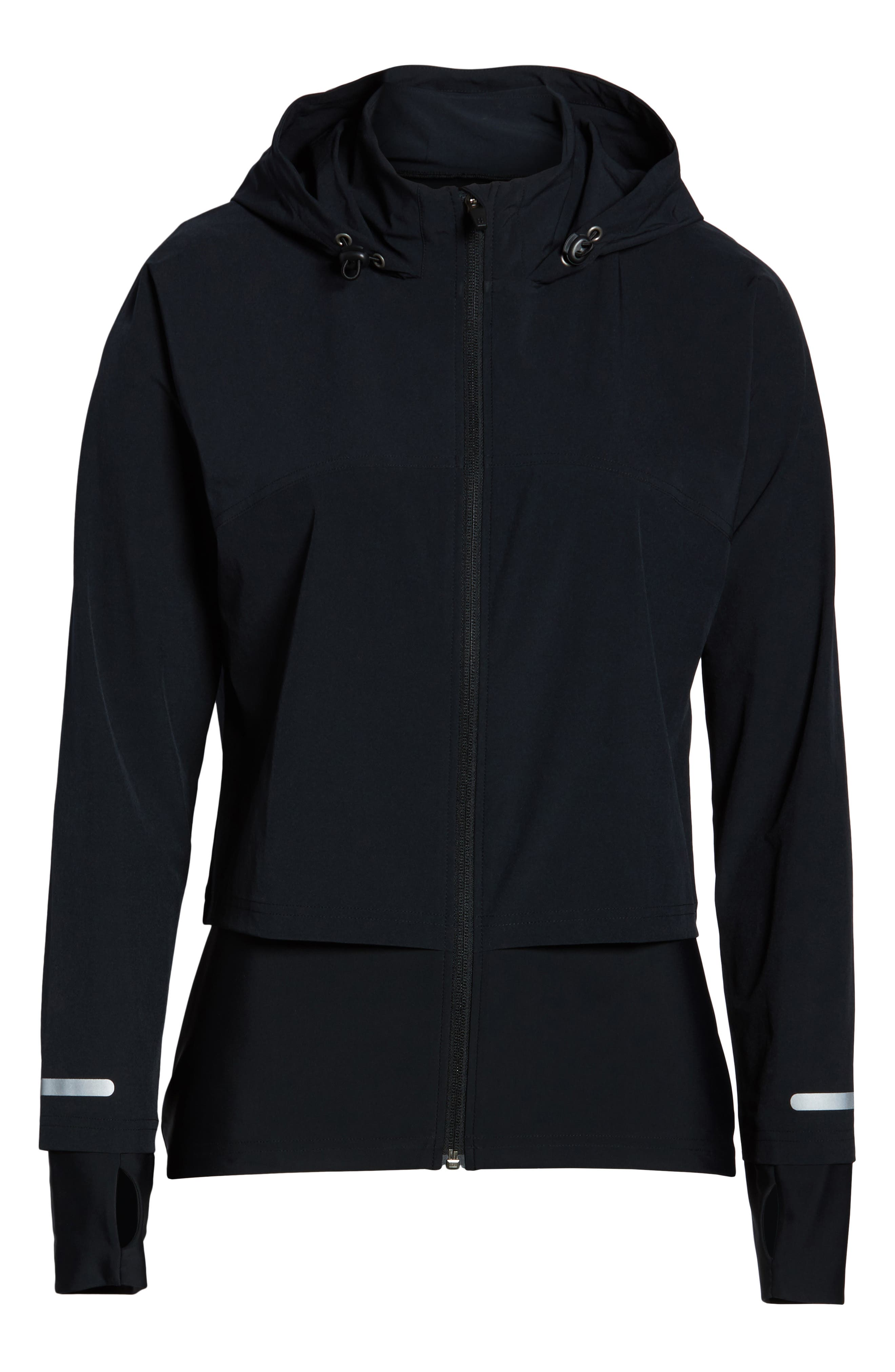 Fast Track Jacket,                             Alternate thumbnail 6, color,                             BLACK