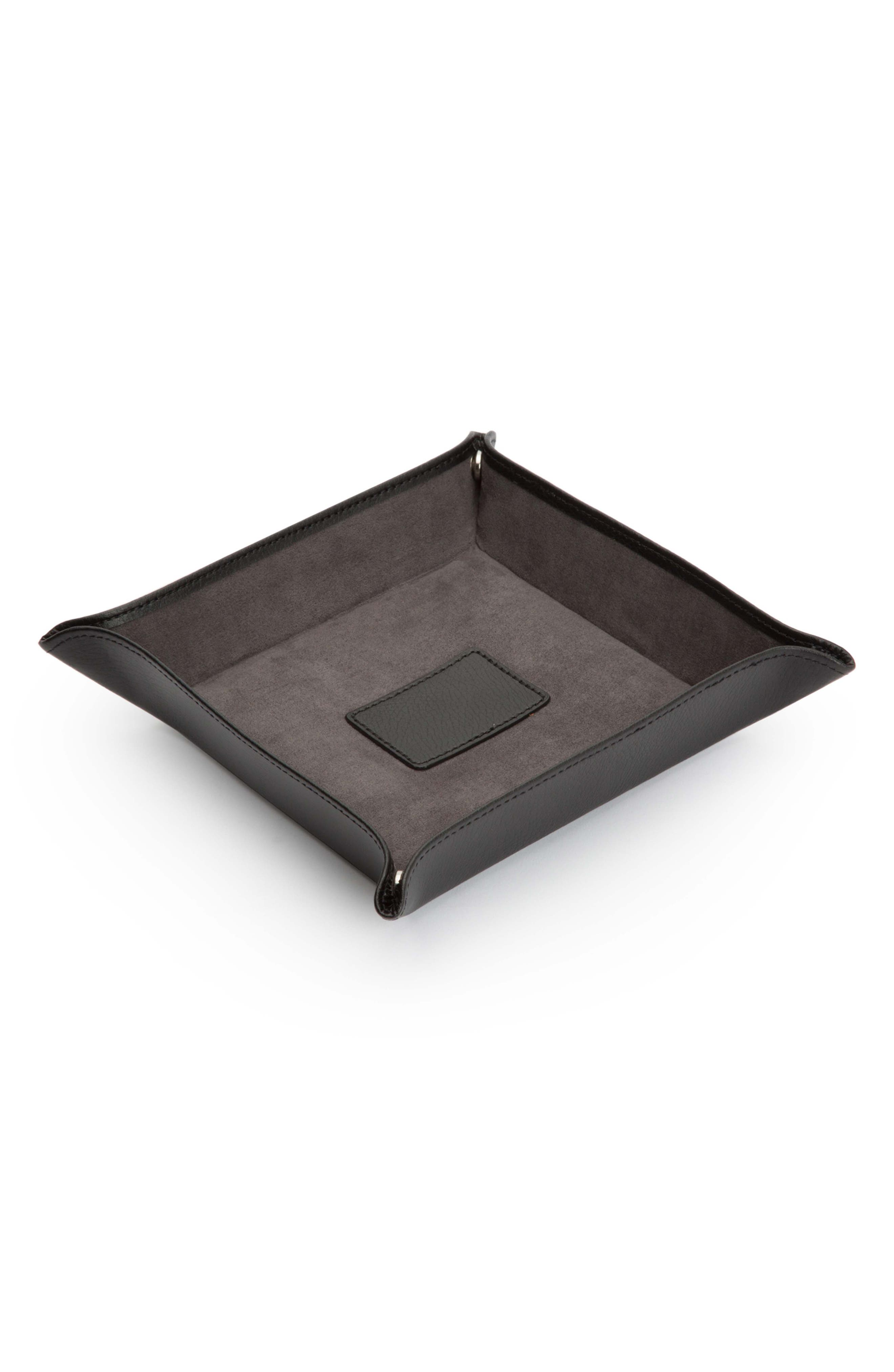 Blake Snap Coin Tray,                             Alternate thumbnail 2, color,                             BLACK