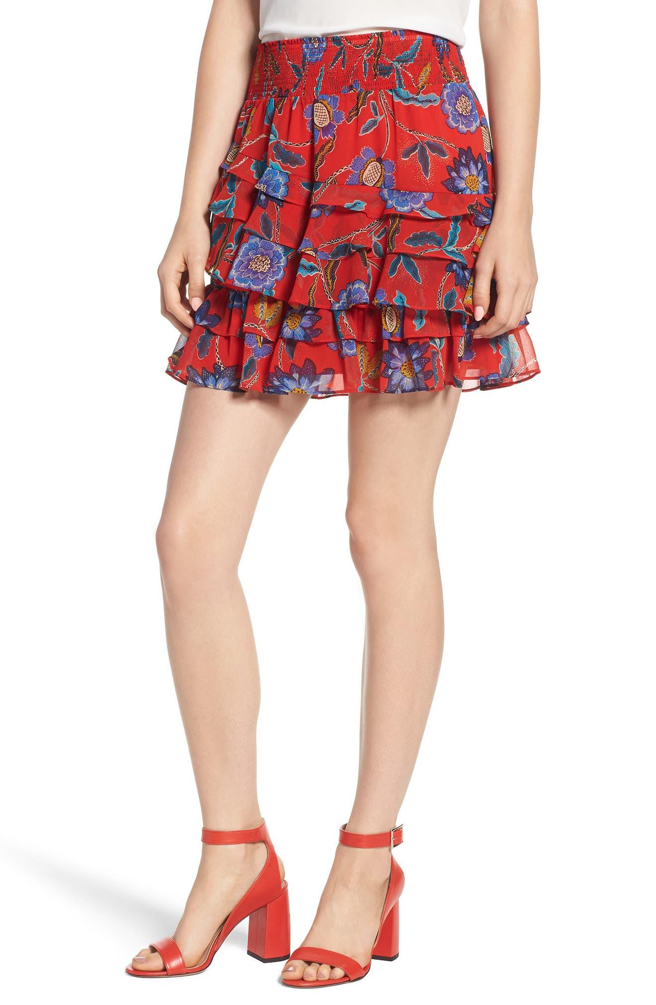 Lila Skirt,                         Main,                         color, 607