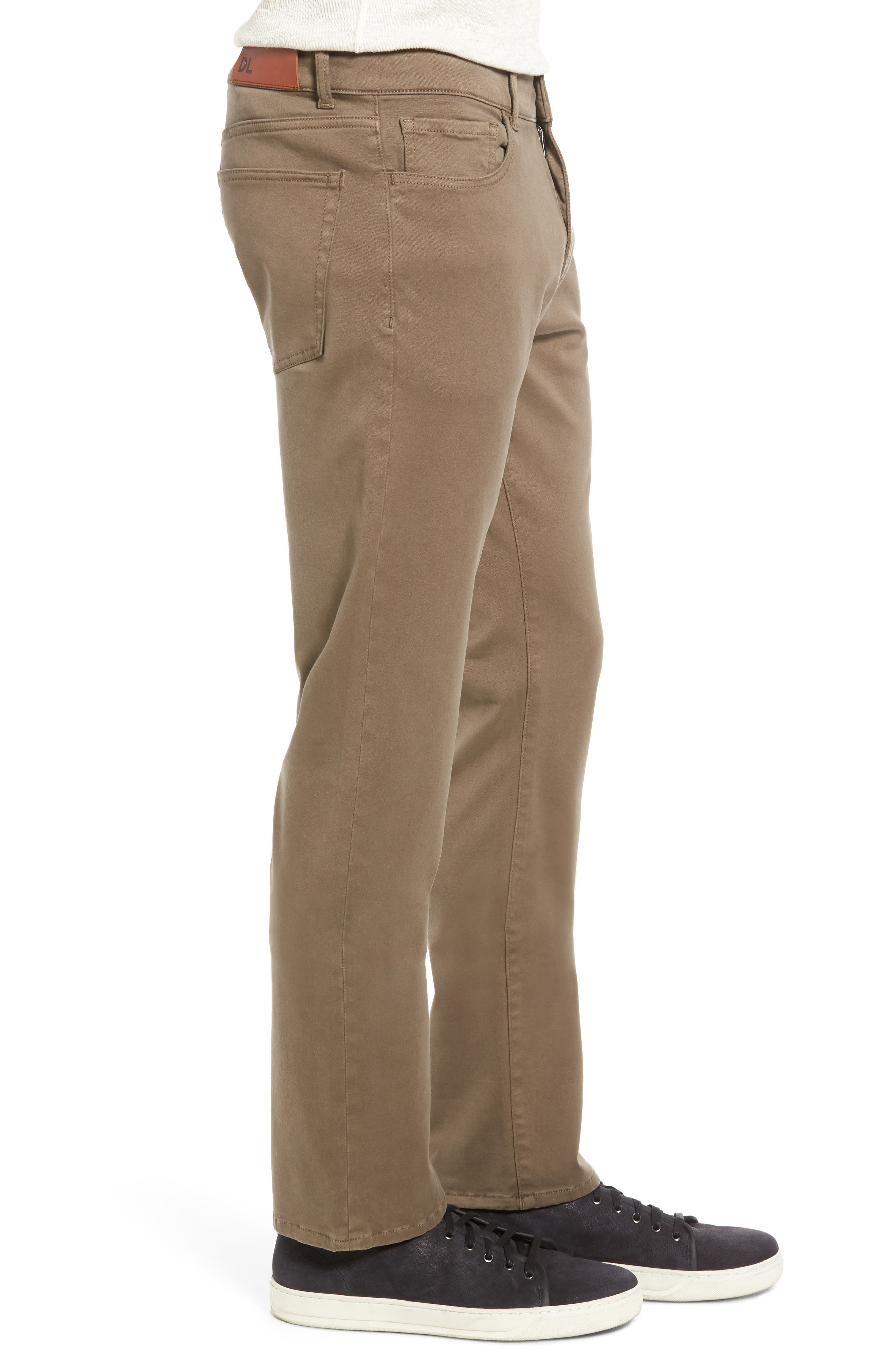 Russell Slim Fit Sateen Twill Pants,                             Alternate thumbnail 27, color,