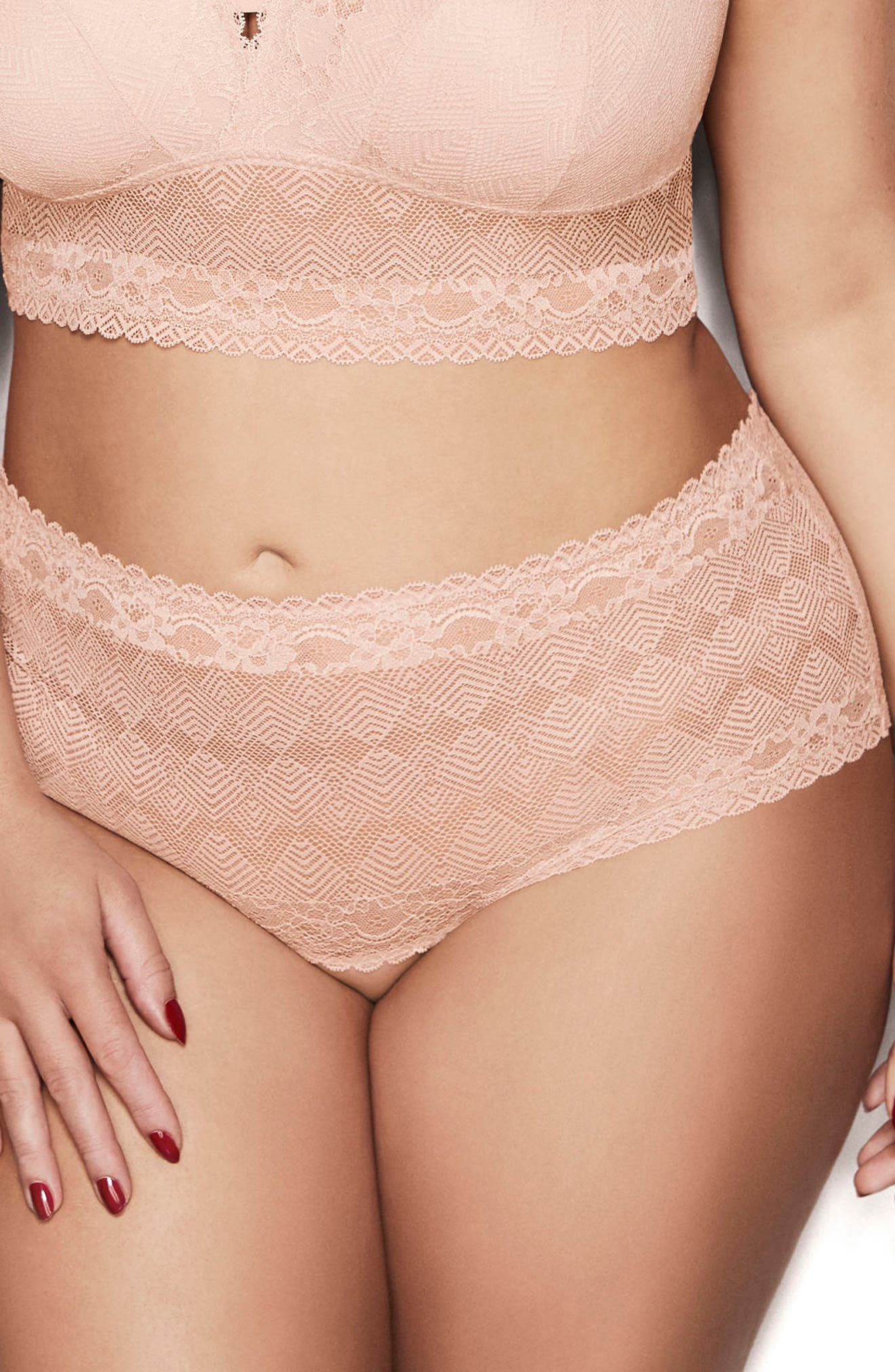 Lace Thong,                             Alternate thumbnail 12, color,