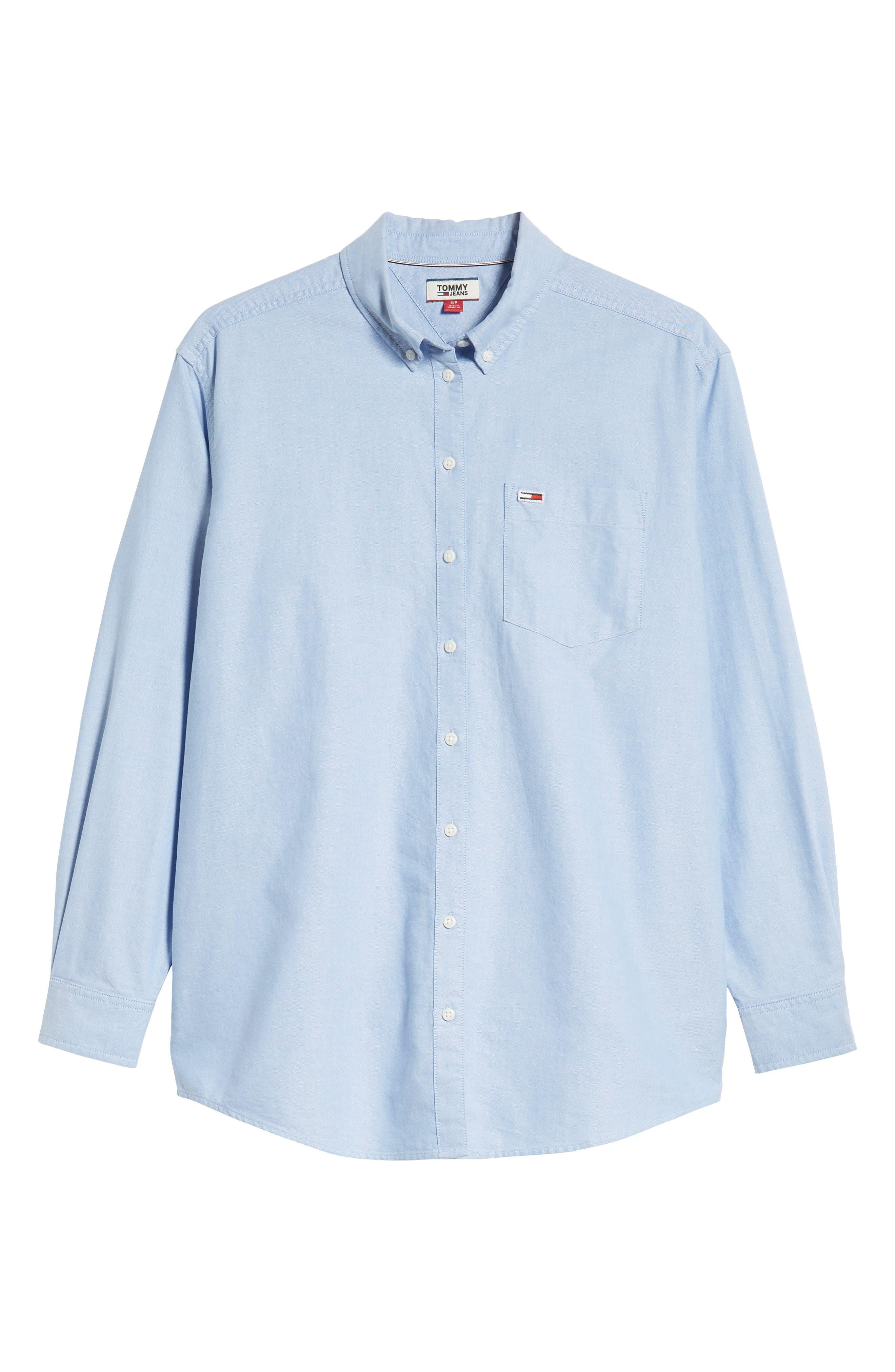 Classics Shirt,                             Alternate thumbnail 6, color,                             LIGHT BLUE