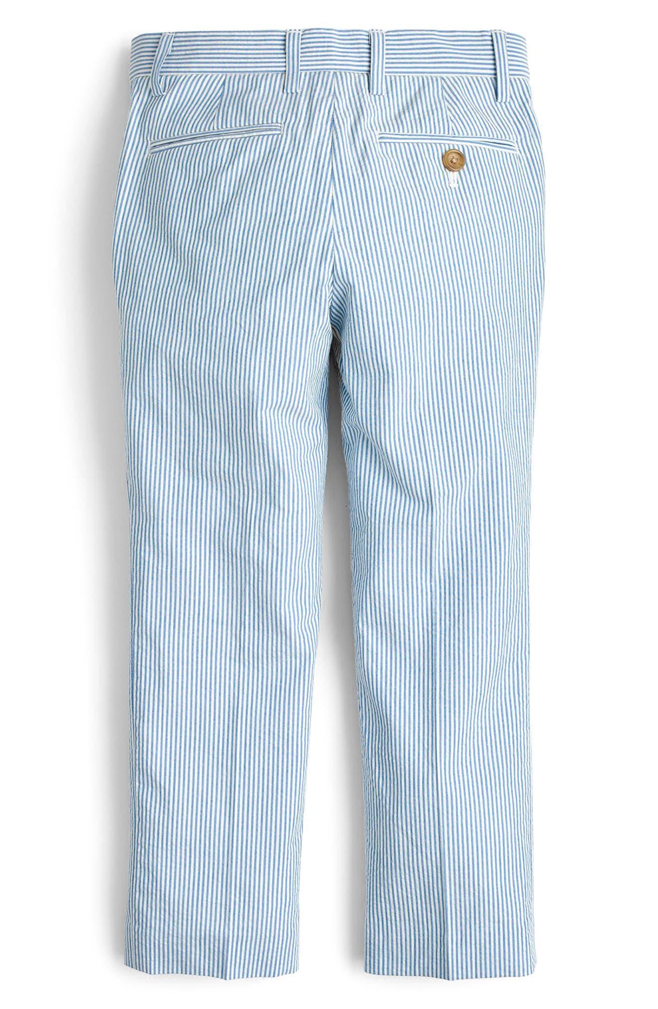 Ludlow Seersucker Pants,                             Alternate thumbnail 2, color,                             400