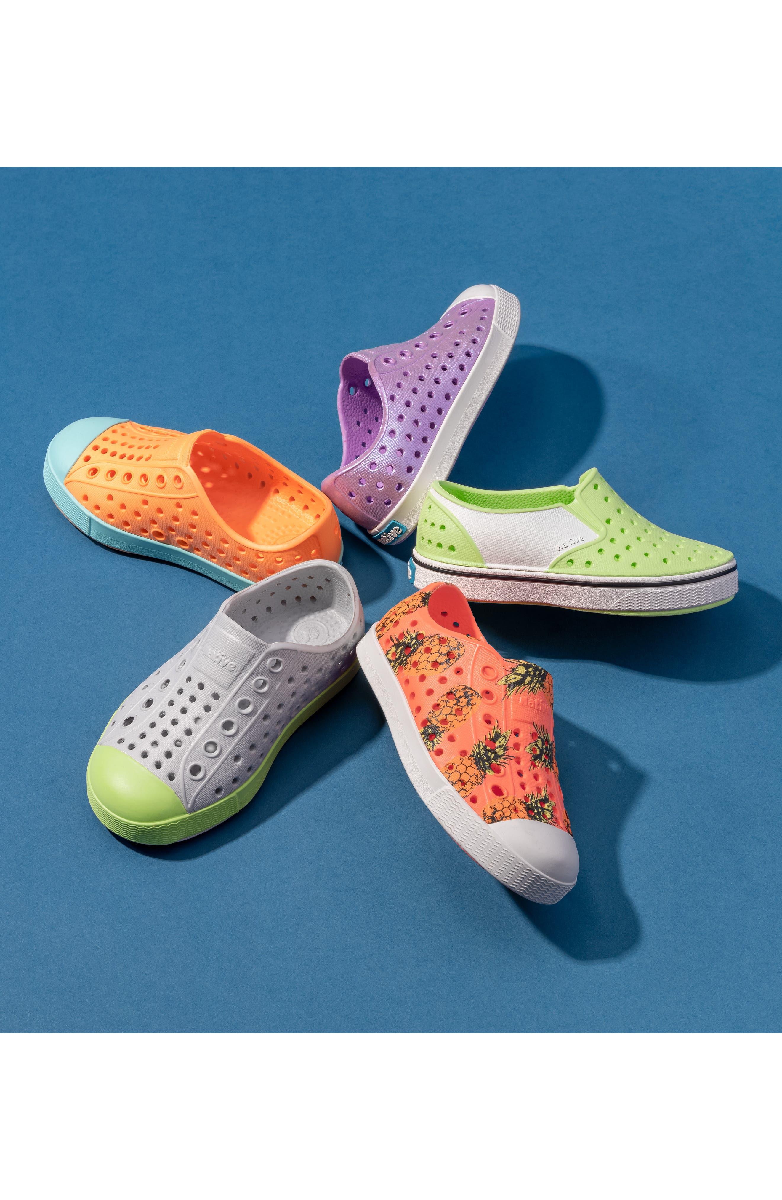 NATIVE SHOES Miles Colorblock Slip-On Vegan Sneaker, Main, color, 163