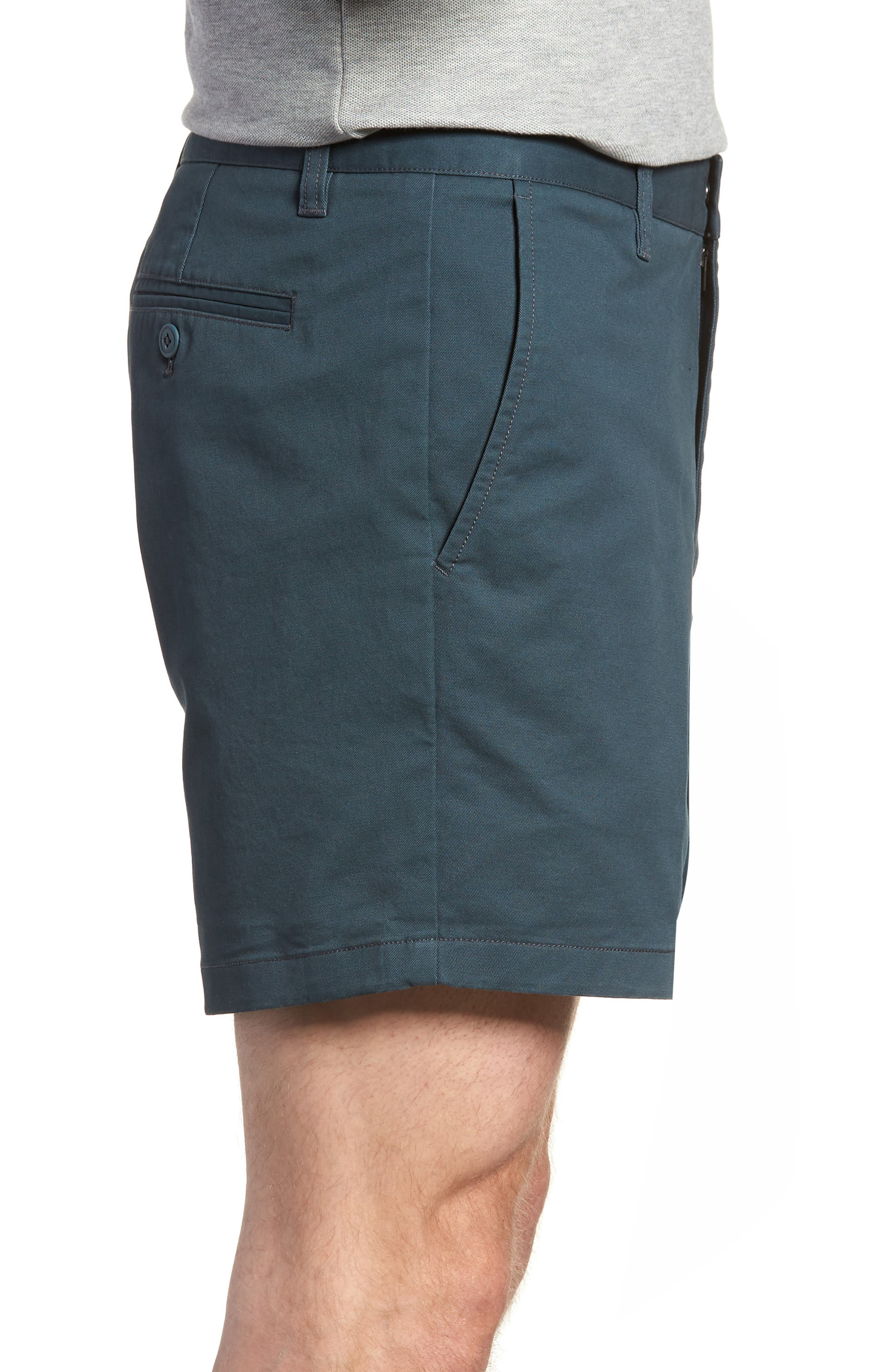 Stretch Washed Chino 5-Inch Shorts,                             Alternate thumbnail 64, color,