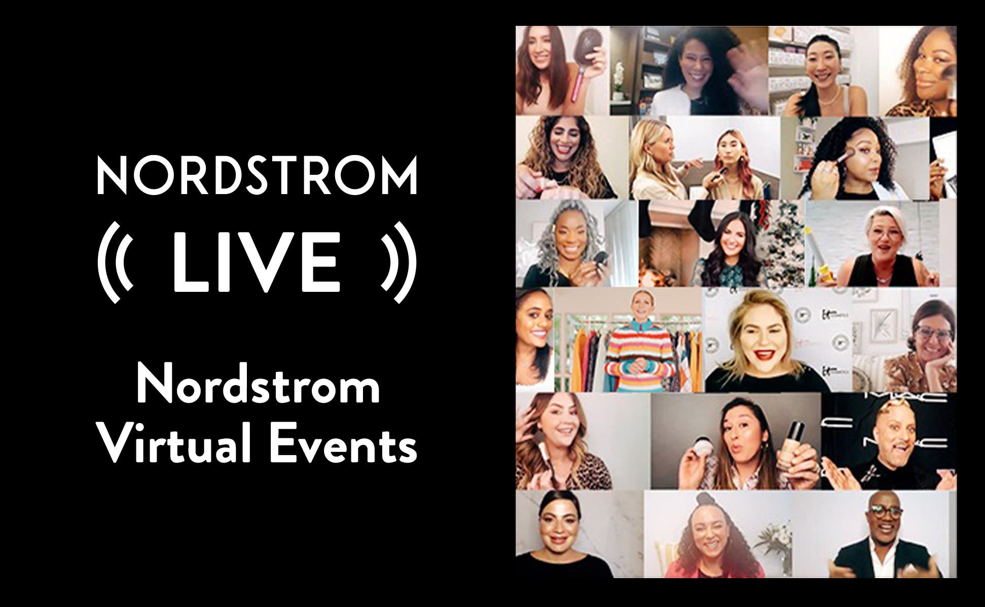 Nordstrom Live virtual events image
