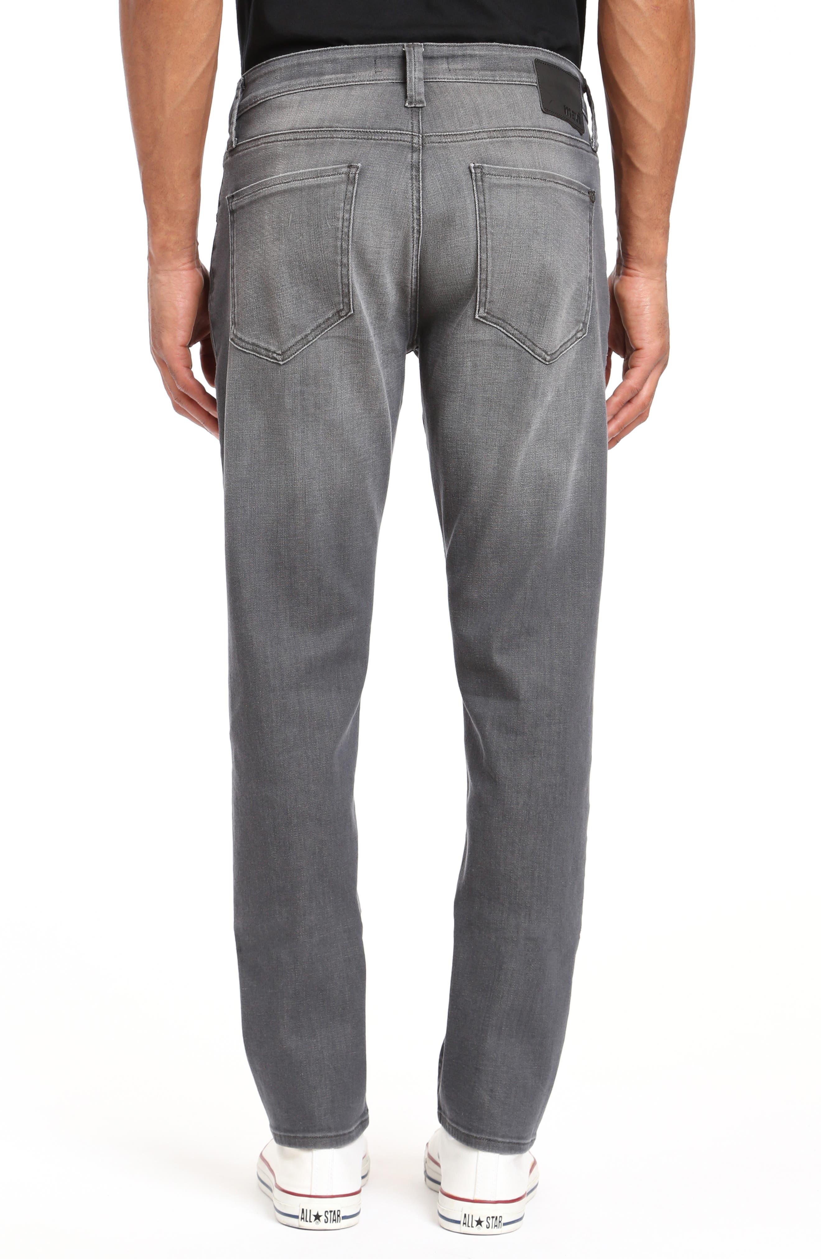 Zach Straight Leg Jeans,                             Alternate thumbnail 2, color,                             LIGHT GREY BROOKLYN
