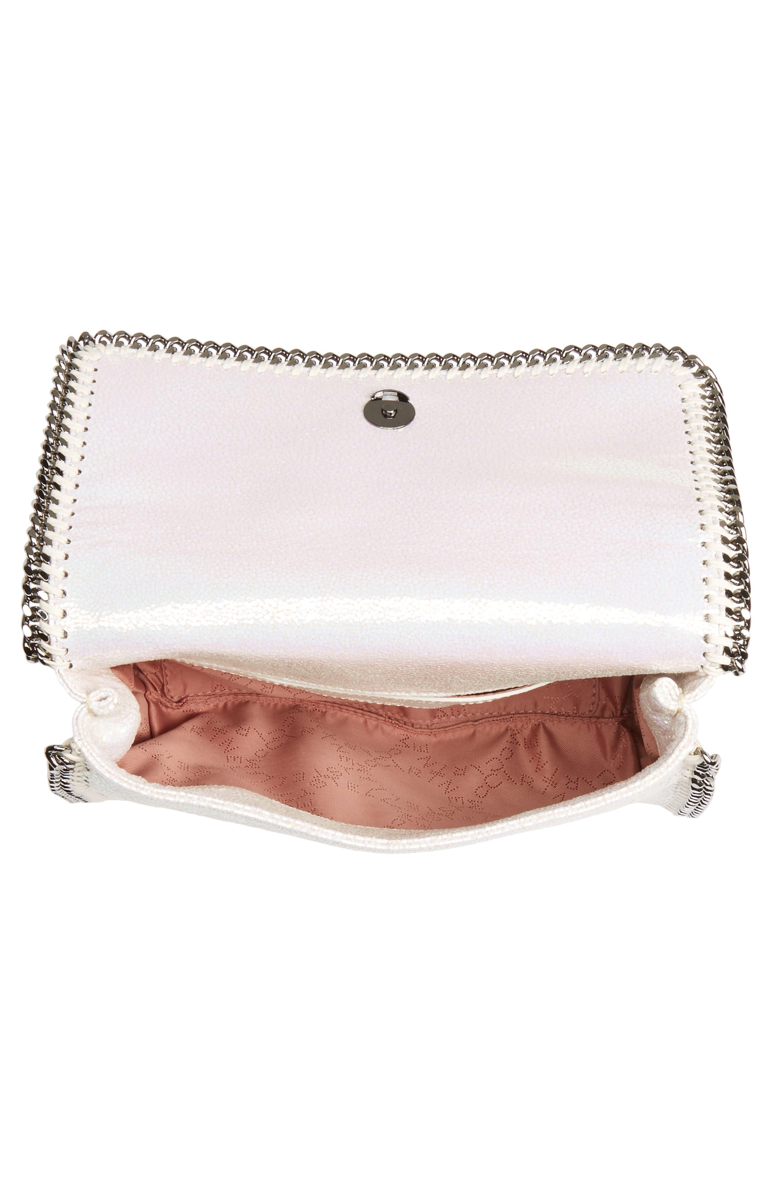 Mini Oleo Deer Faux Leather Shoulder Bag,                             Alternate thumbnail 4, color,                             100