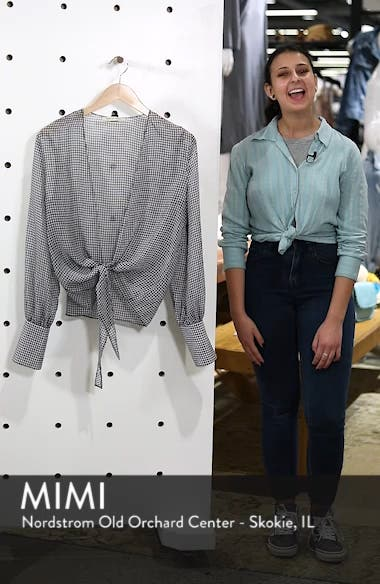 Heather Tie Front Top, sales video thumbnail