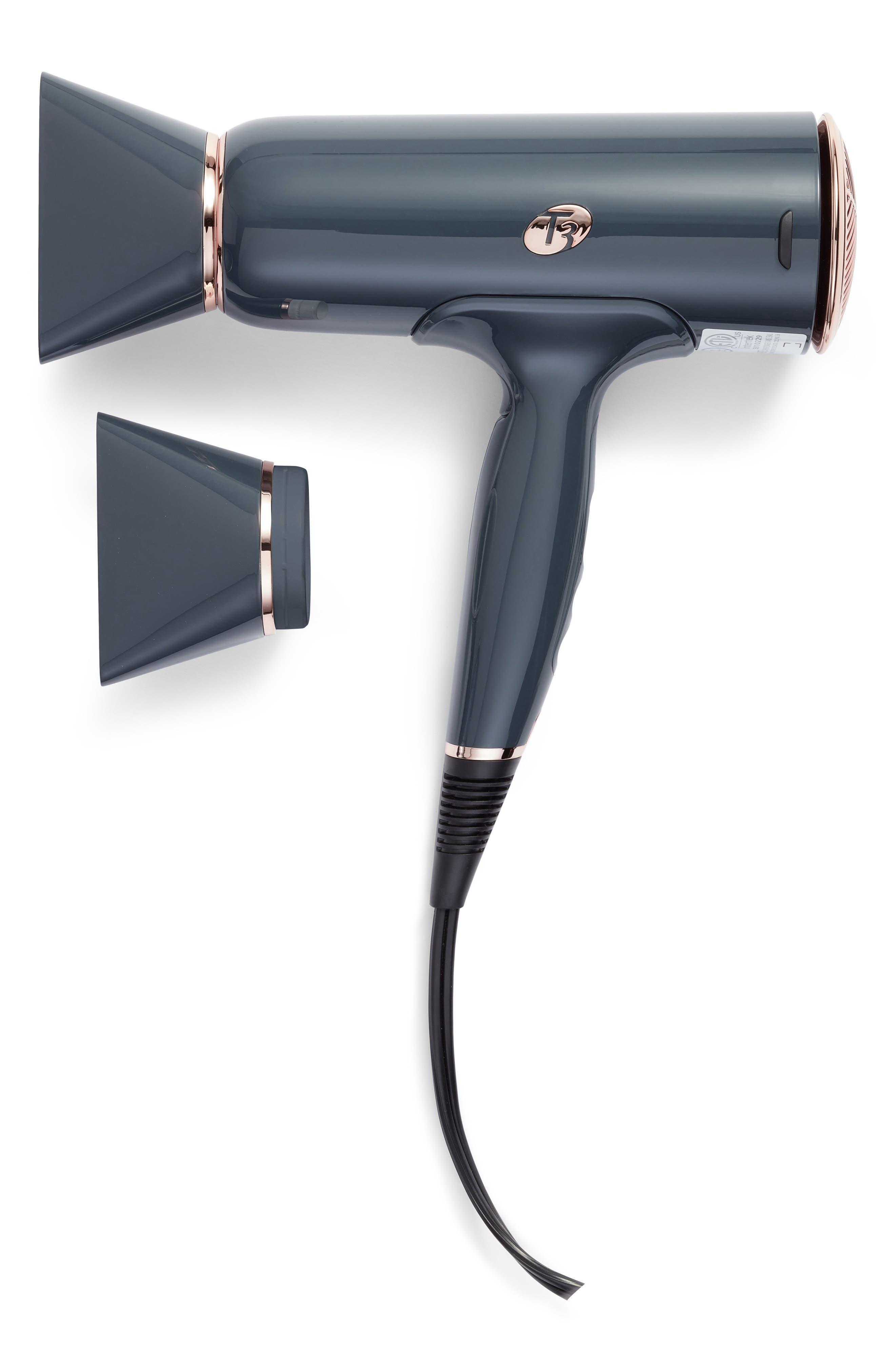 Grey & Rose Gold Cura Hair Dryer,                             Main thumbnail 1, color,                             NO COLOR