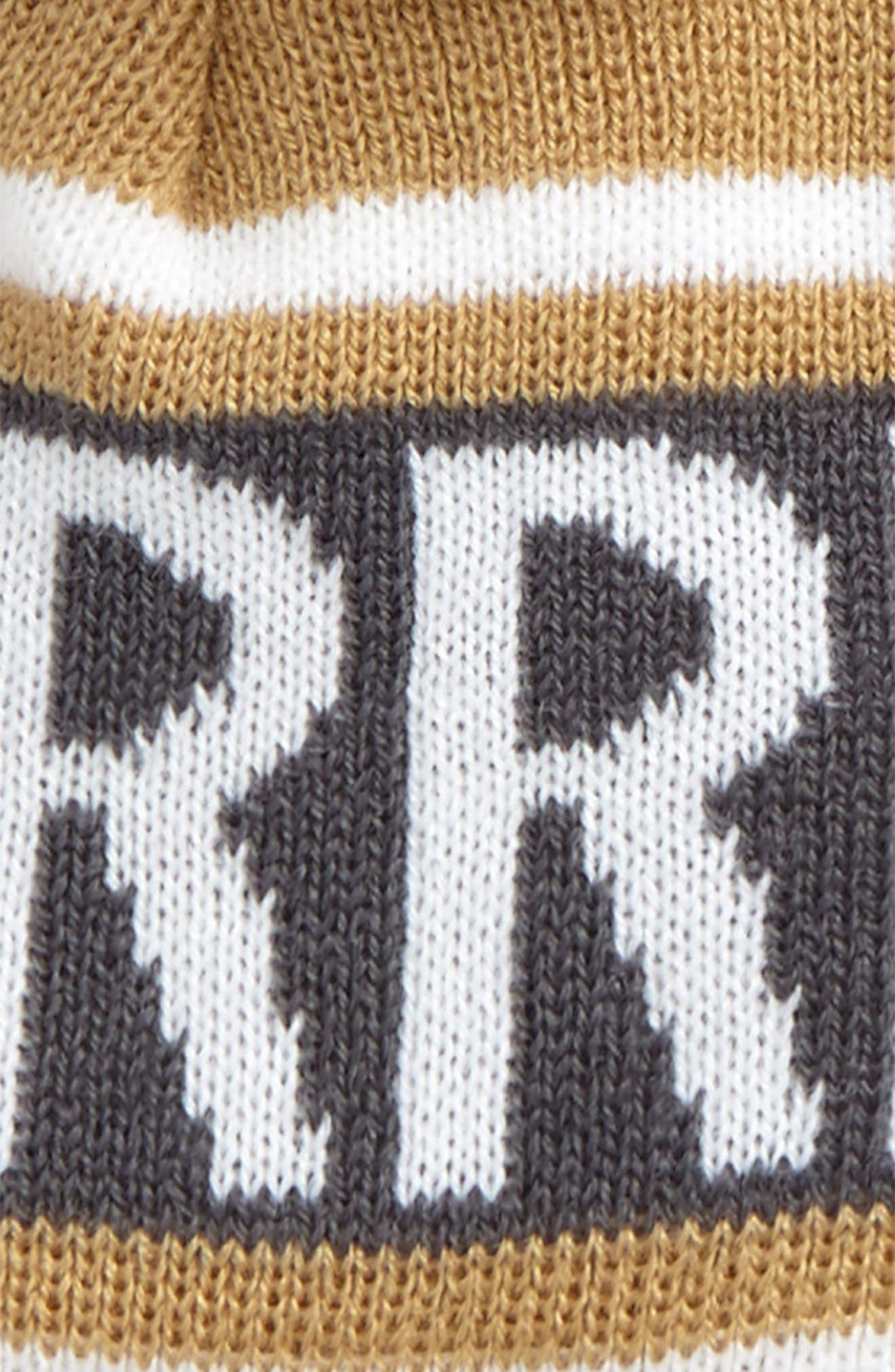 Verbiage Fair Isle Beanie,                             Alternate thumbnail 3, color,