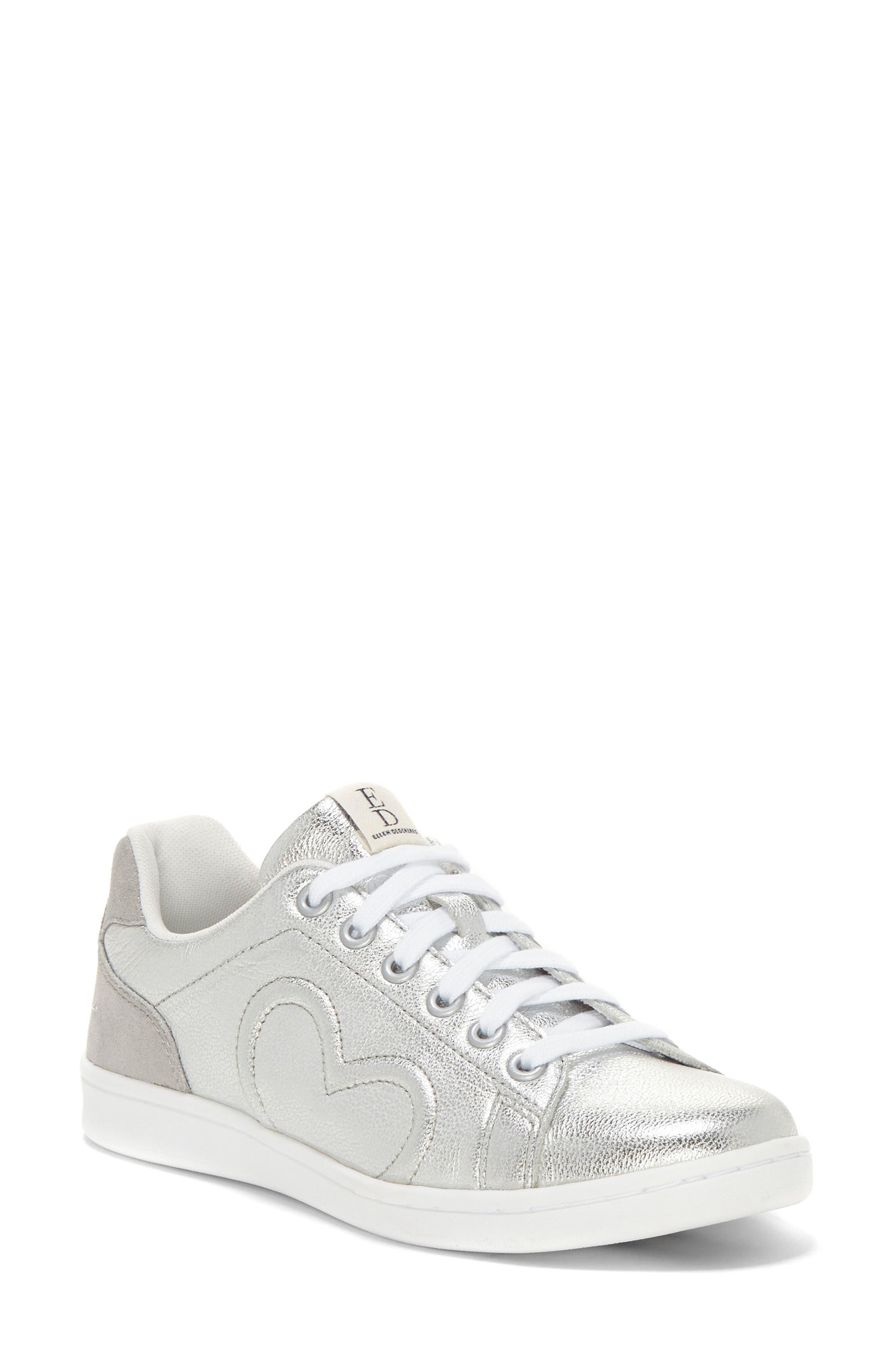 Chapunto Sneaker,                         Main,                         color, SILVER SUEDE
