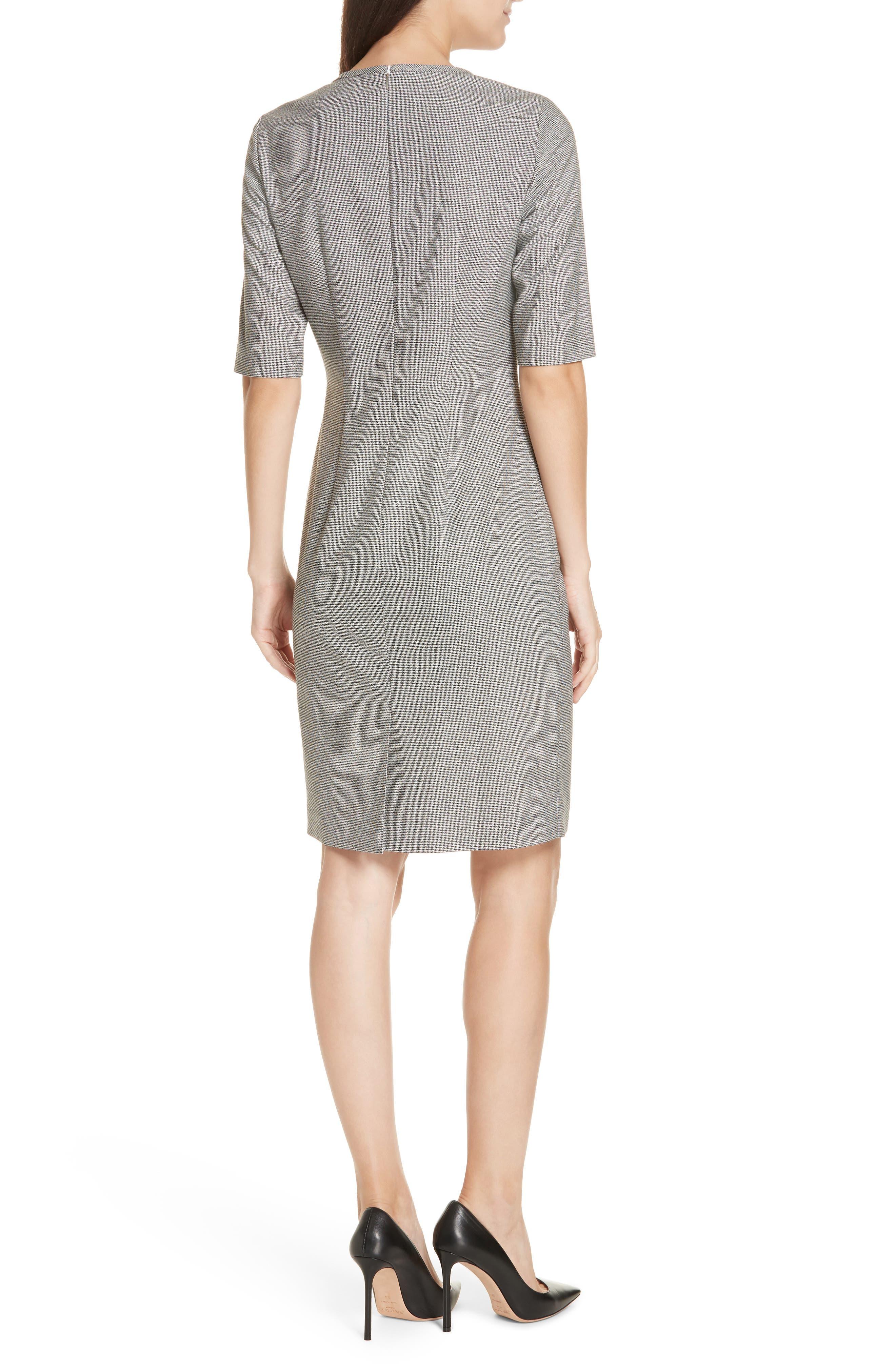 Dirafia Blurred Optic Dress,                             Alternate thumbnail 2, color,                             BLACK FANTASY