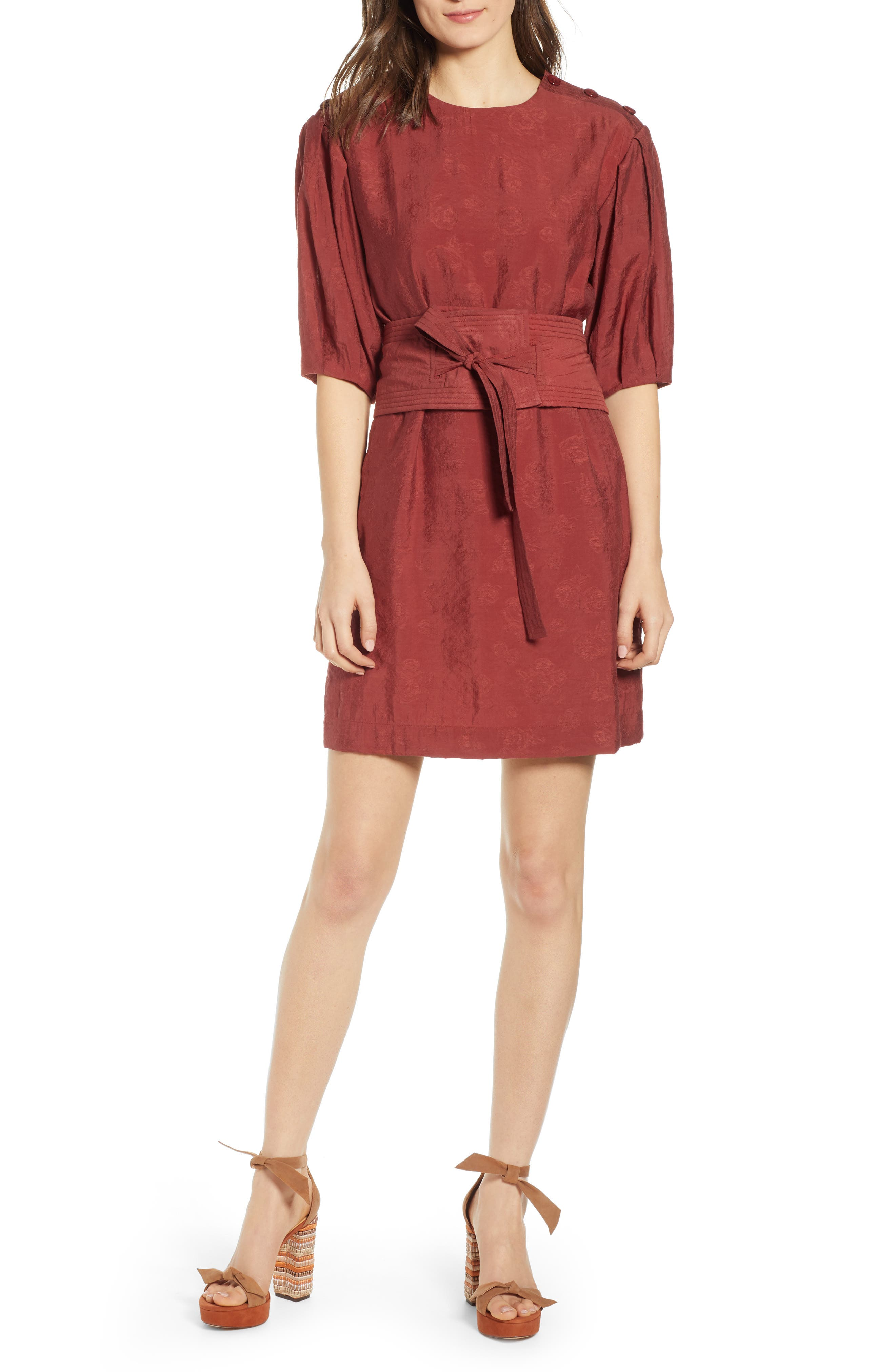 Rebecca Minkoff Juno Dress, Red