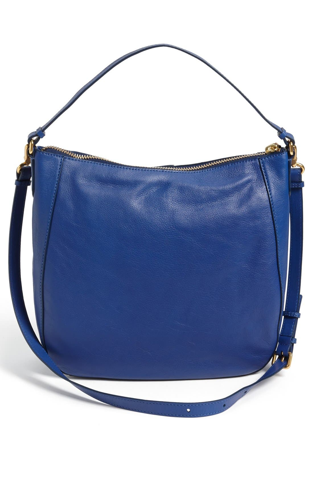 MARC BY MARC JACOBS 'Globetrotter - Kirsten' Leather Satchel,                             Alternate thumbnail 4, color,