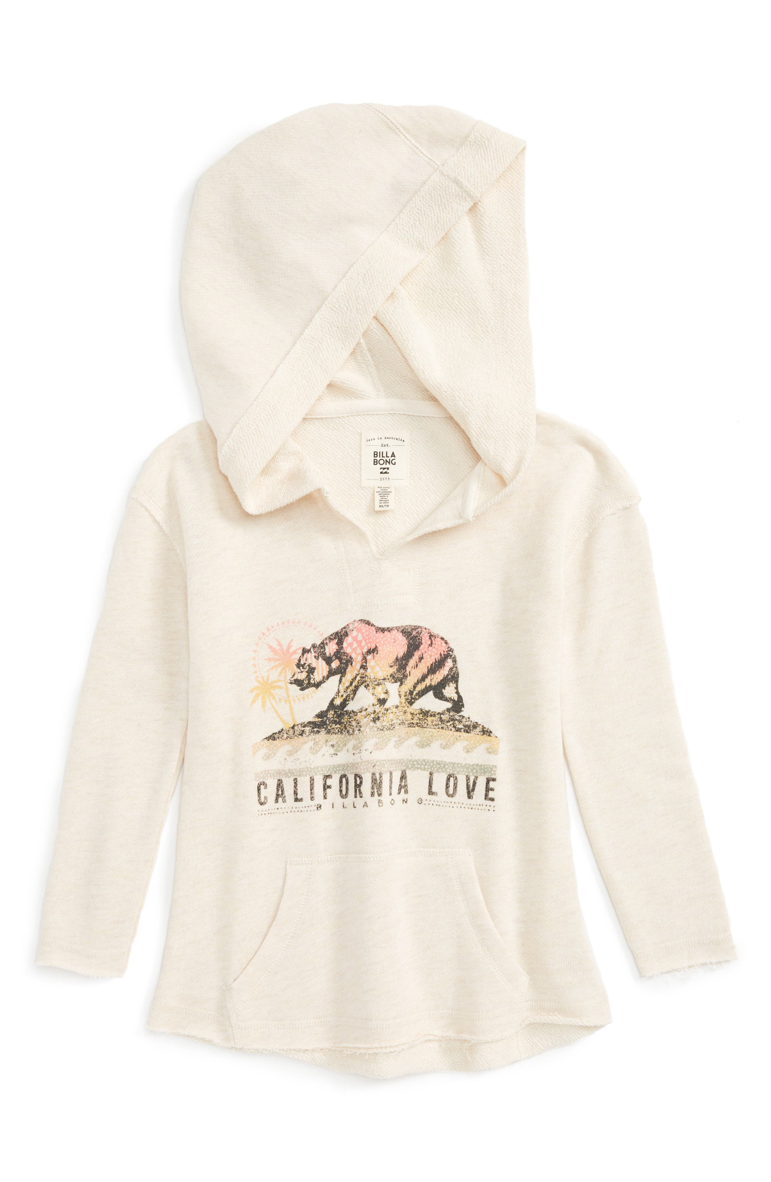 Days Off Graphic Hoodie,                         Main,                         color, 192
